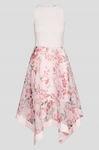 Asymetryczna sukienka w kwiaty ślub wesele S ORSAY