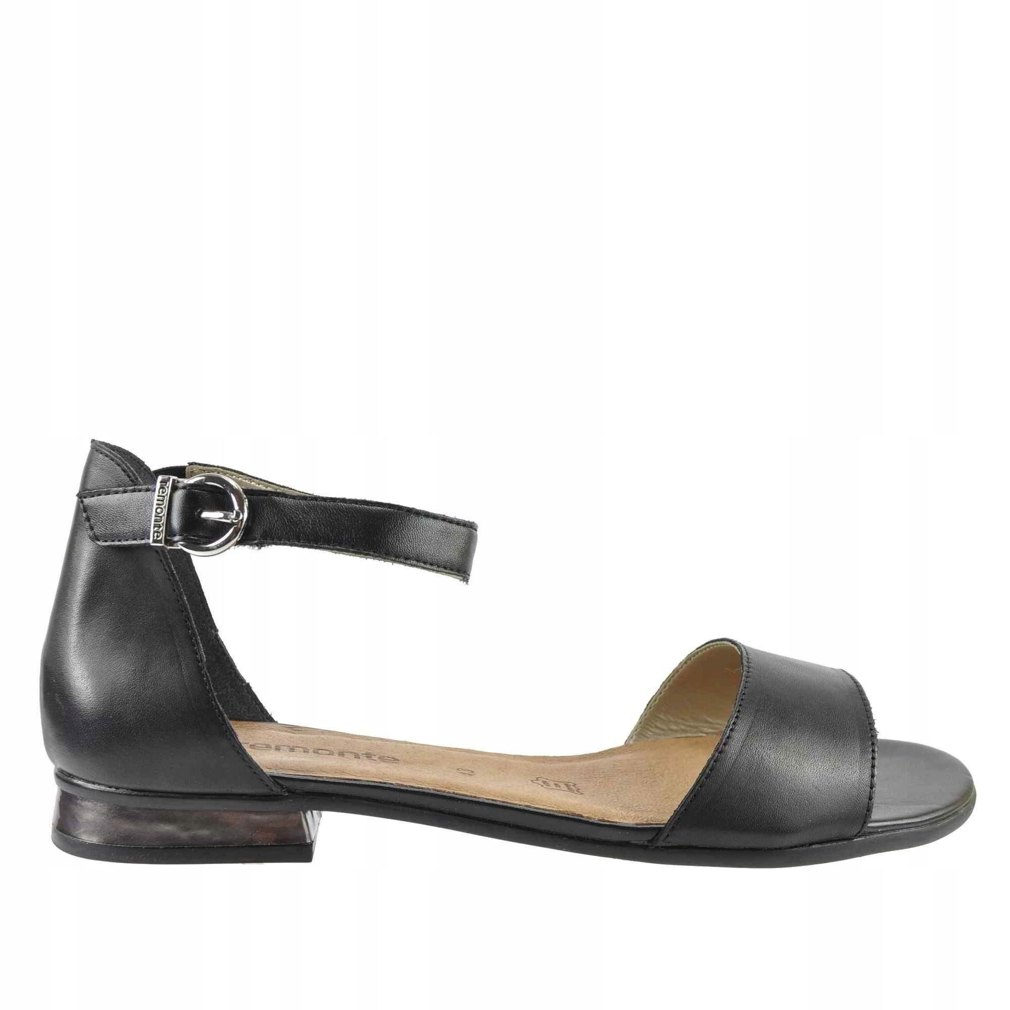 Duże sandały damskie Remonte R9052 33 czerwone