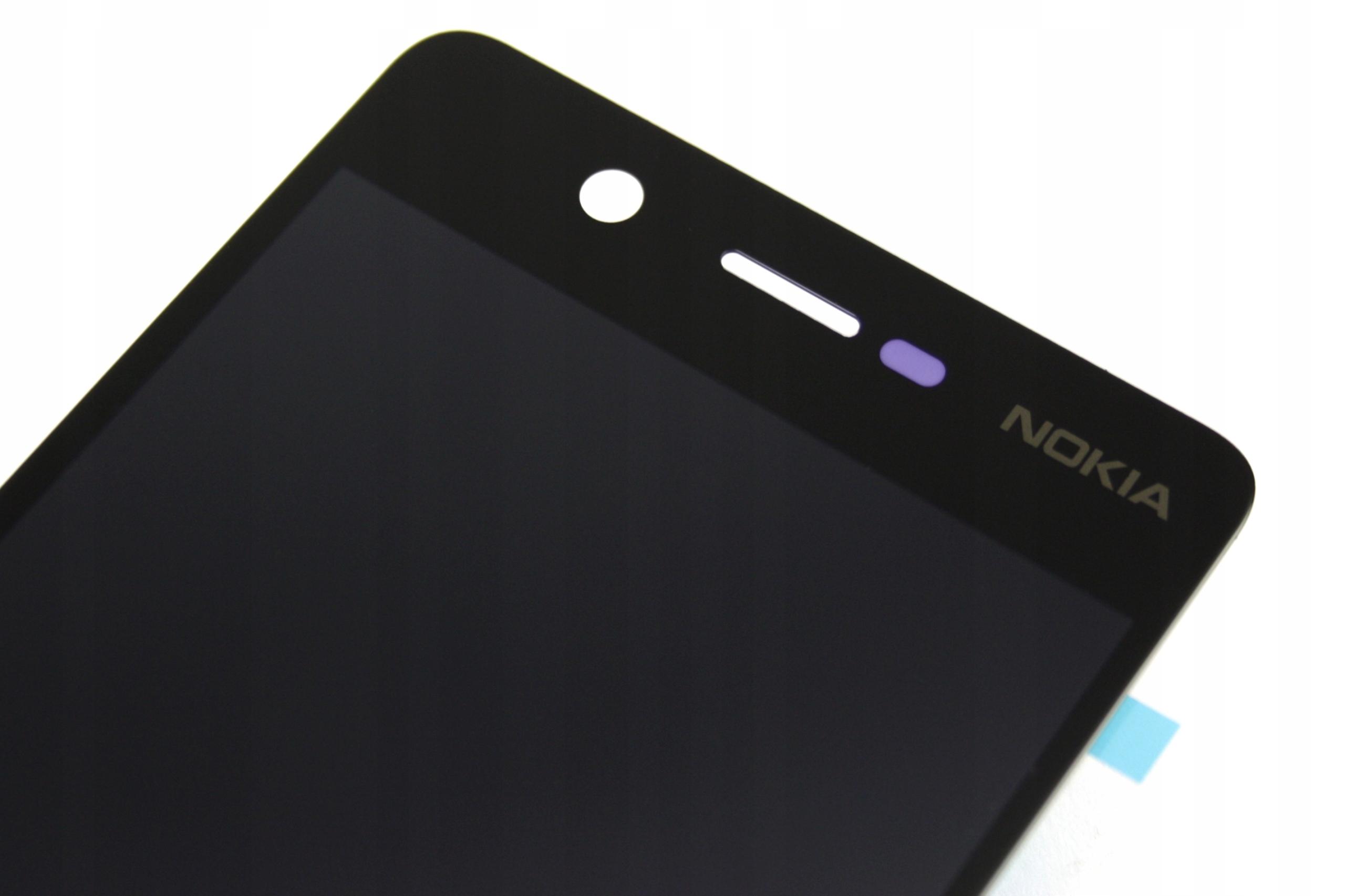 5 NOKIA WYŚWIETLACZ LCD EKRAN CZARNY NOWE BLACK