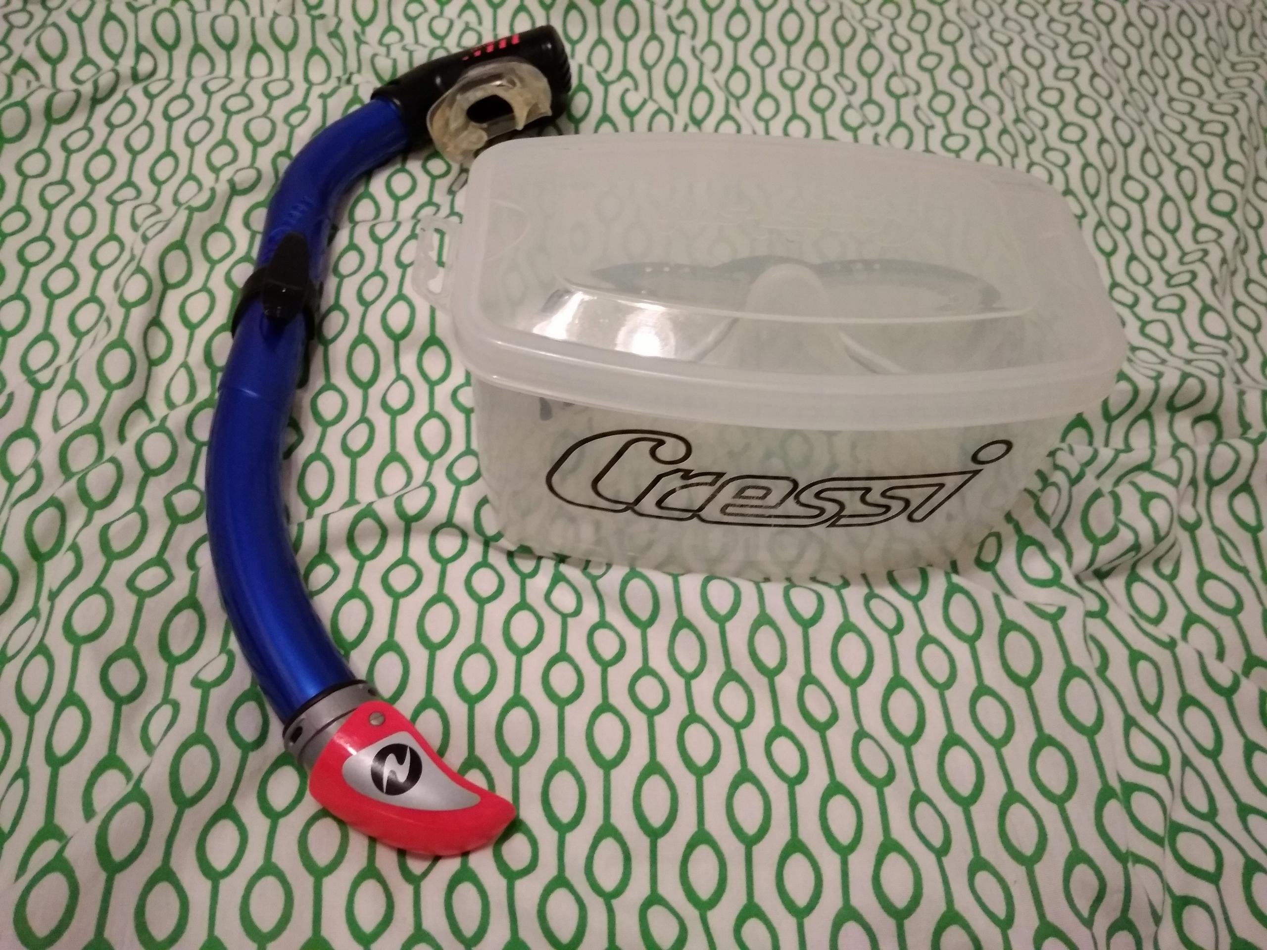 Zestaw maska + fajka do nurkowania