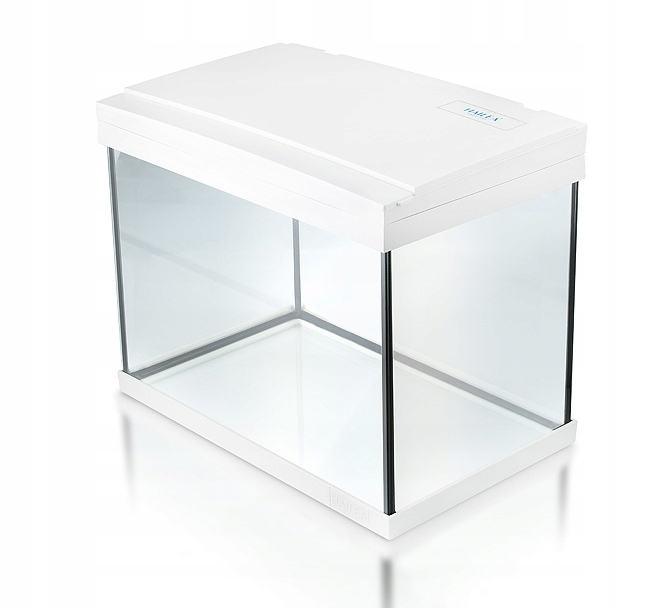 Akwarium 20l HAILEA białe FM20 LED + filtr
