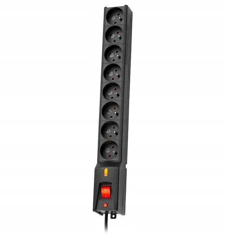 Listwa Lestar LX 810 5m czarna (5m; kolor czarny)
