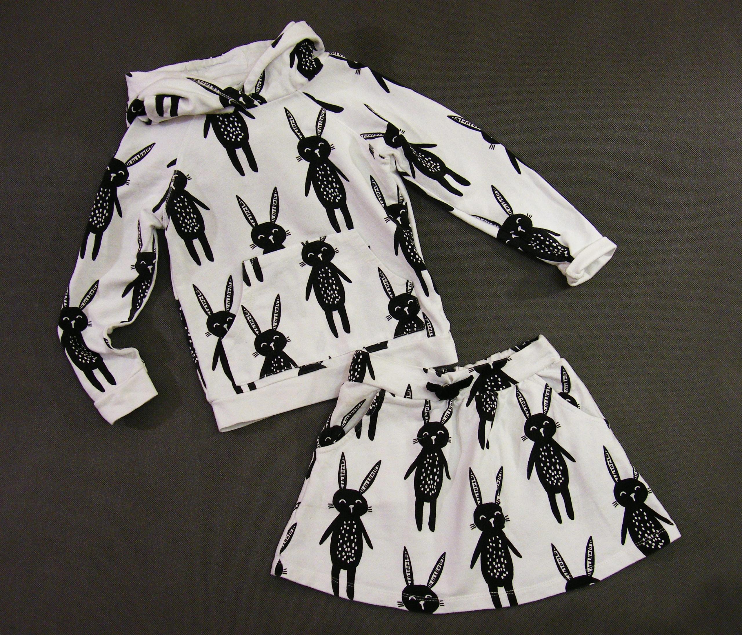 Mothercare_MY K_Świetna bluza + spódniczka 116 cm