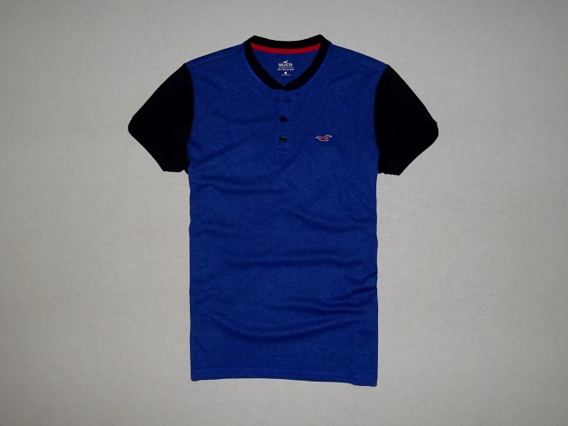 Hollister Must Have Icon Colorblock Henley Tee S