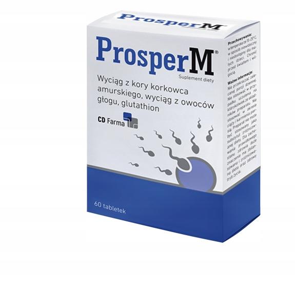 ProsperM 60 tabletek płodność jakość nasienia