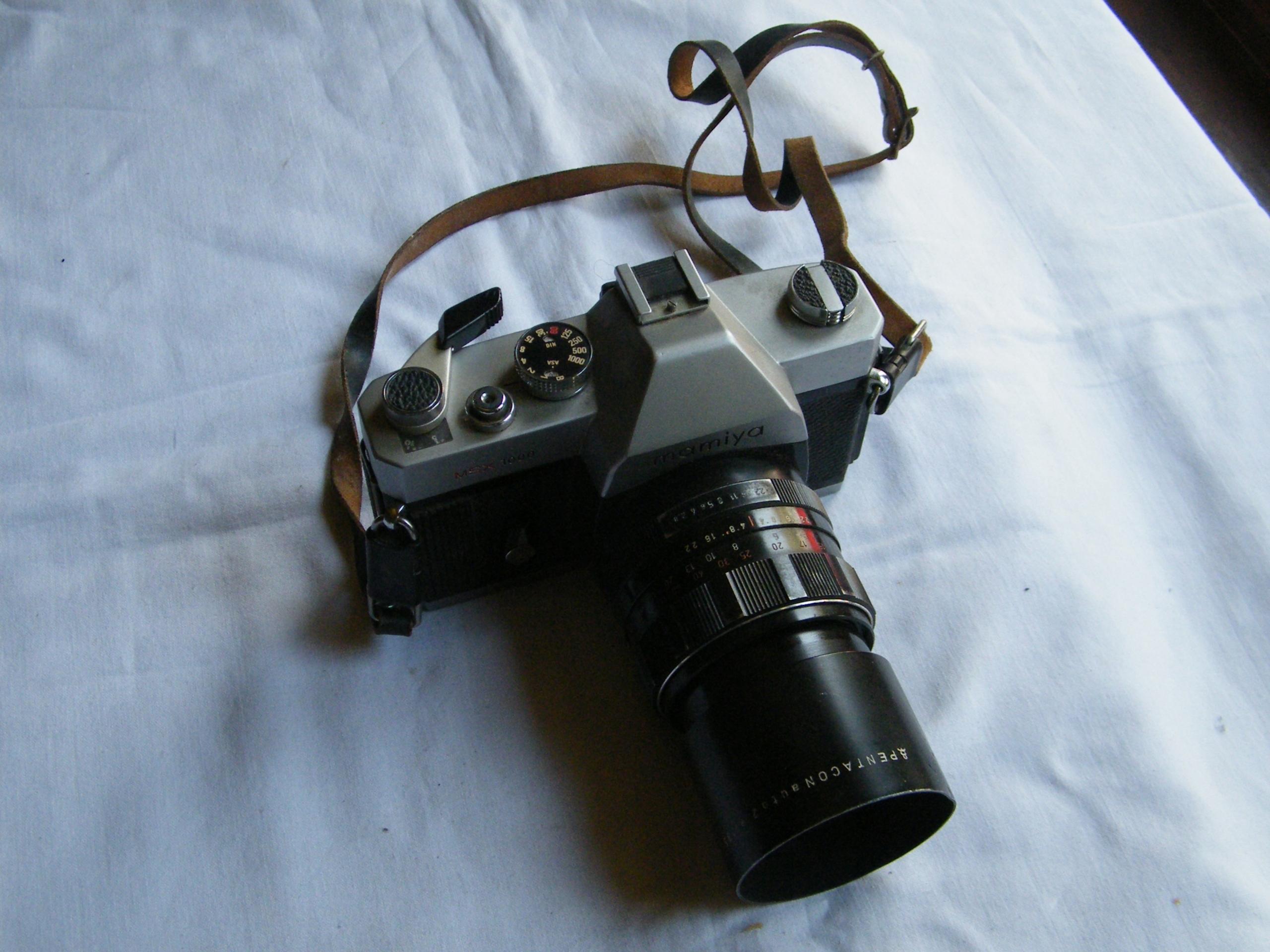 Stary aparat Mamiya