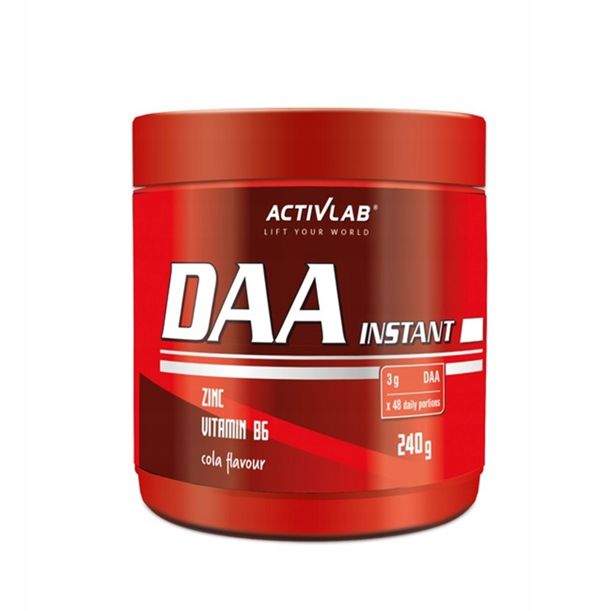 ActivLab DAA Instant 240g cola podnieś teścia !