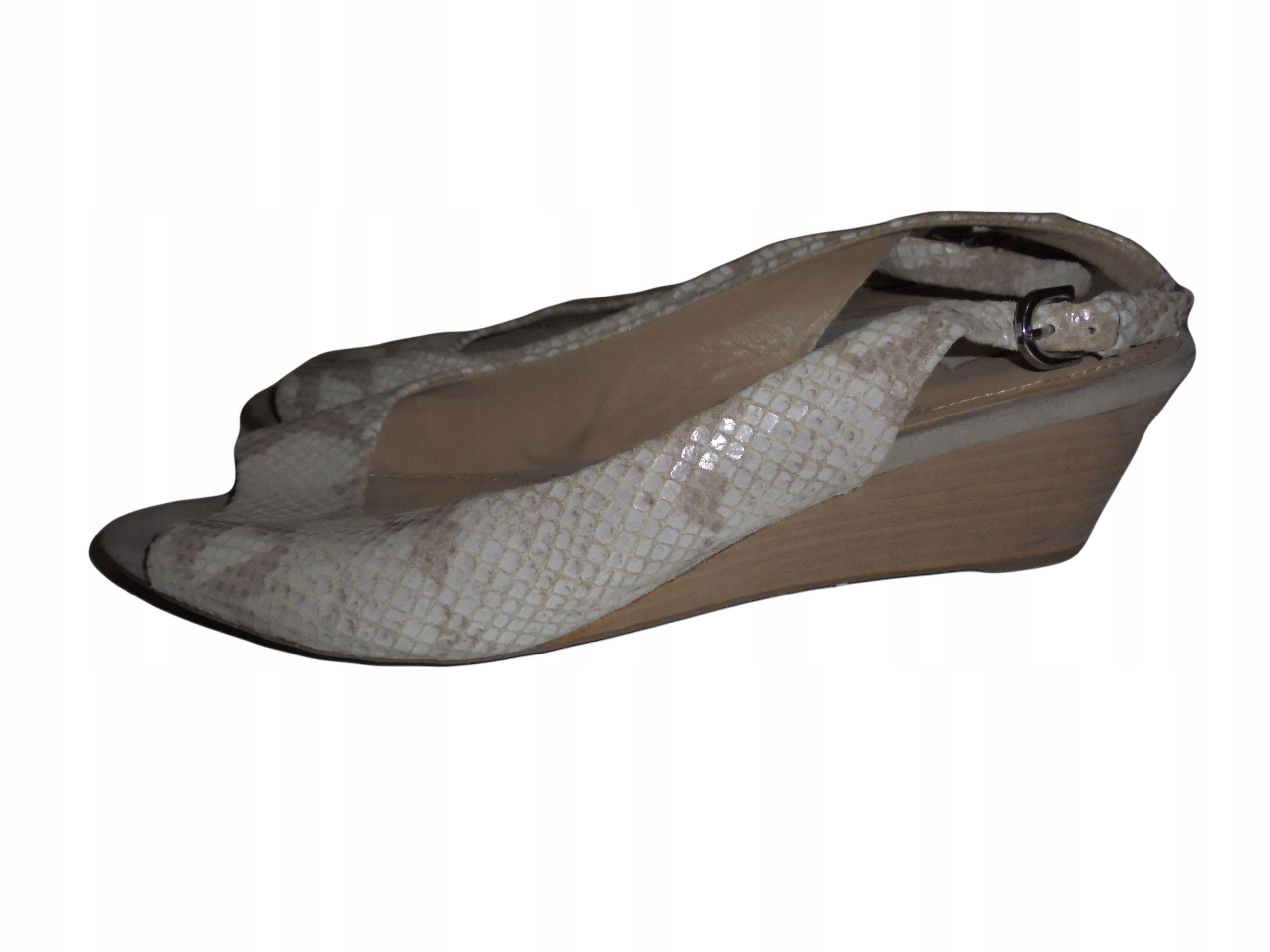 Skórzane buty Geox. Stan idealny. Rozmiar 40.