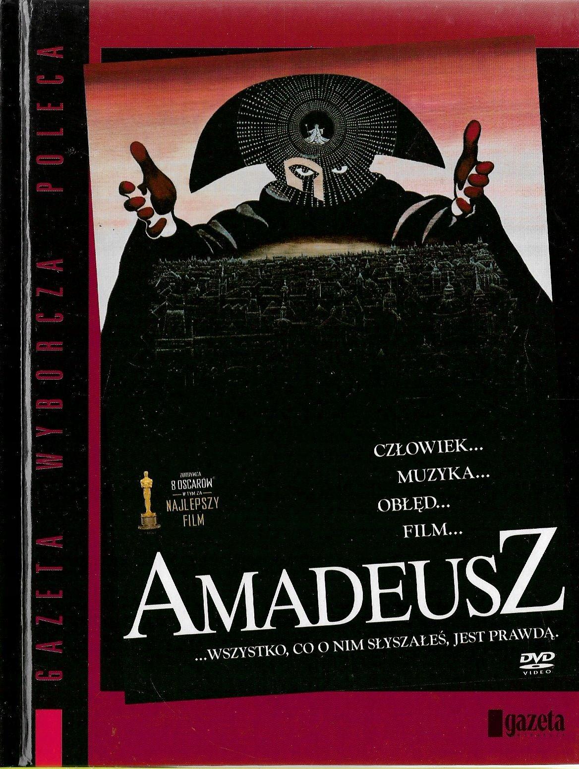 Amadeusz /reż.M.Forman DVD NOWY