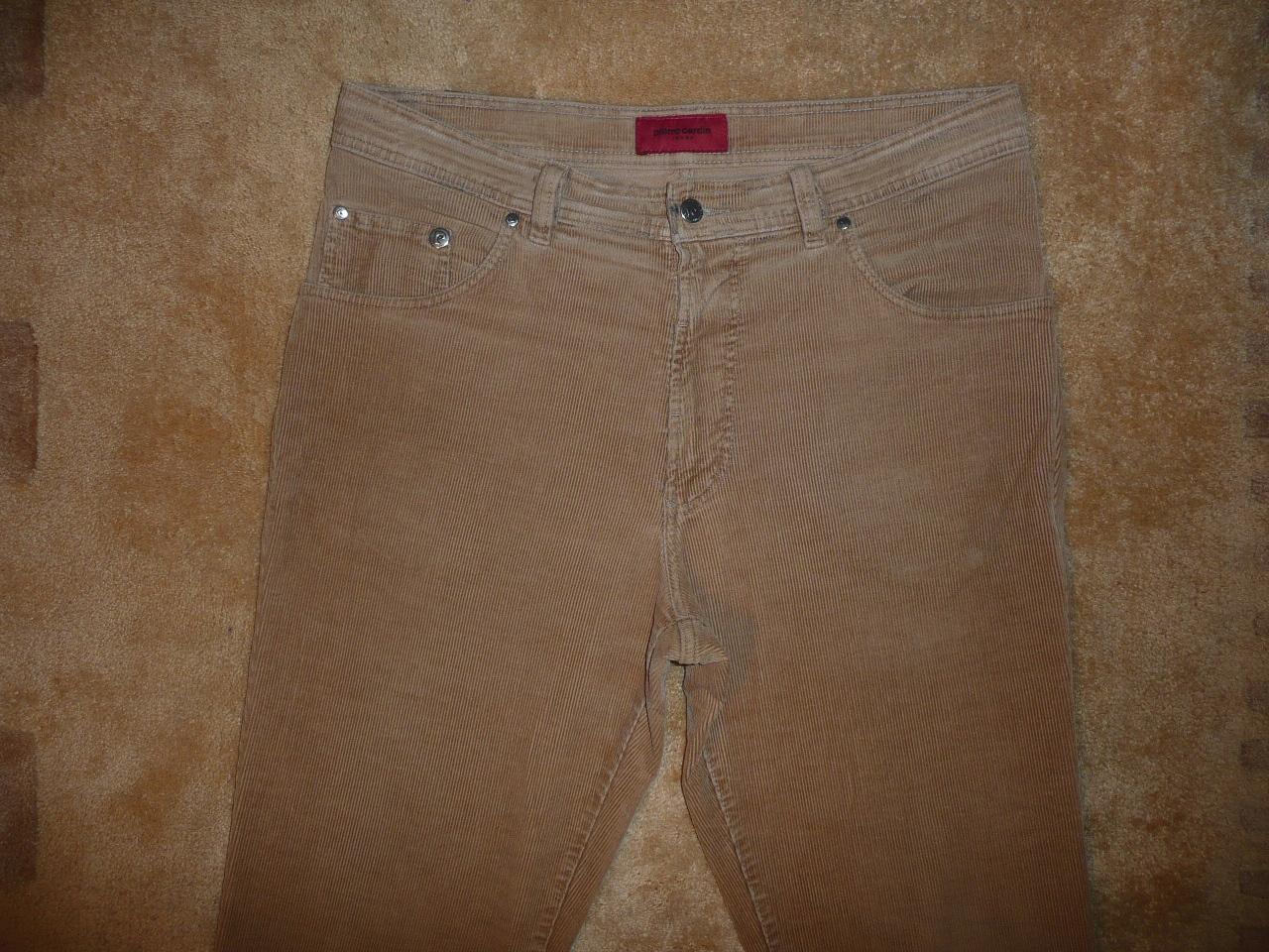 Spodnie sztruksowe PIERRE CARDIN W36/L32=47/105cm