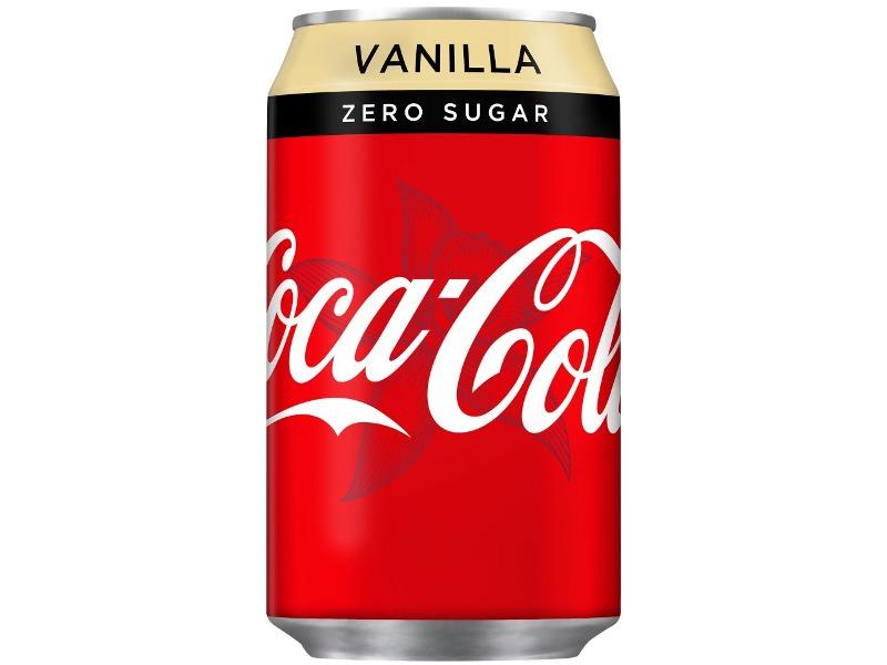 COCA-COLA Vanilla Zero 330ml Bez Cukru NOWOŚĆ!