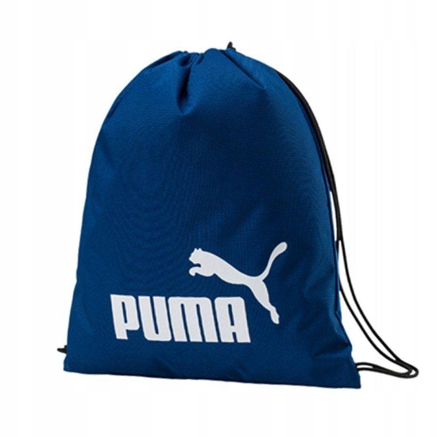 TANI Niebieski szkolny worek Puma Plecak CENA HURT