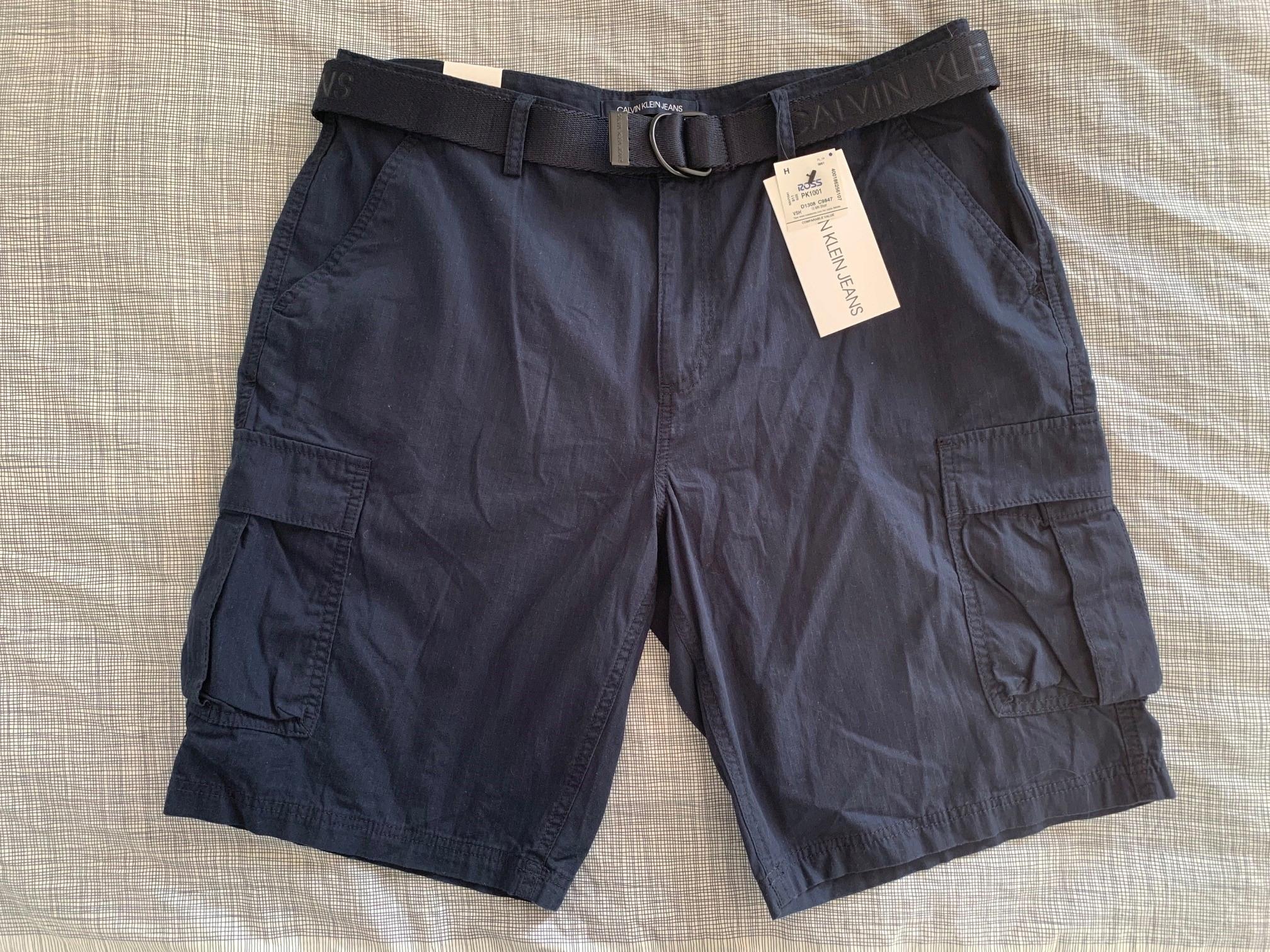 nowe spodnie krótkie Calvin Klein Sky Captain
