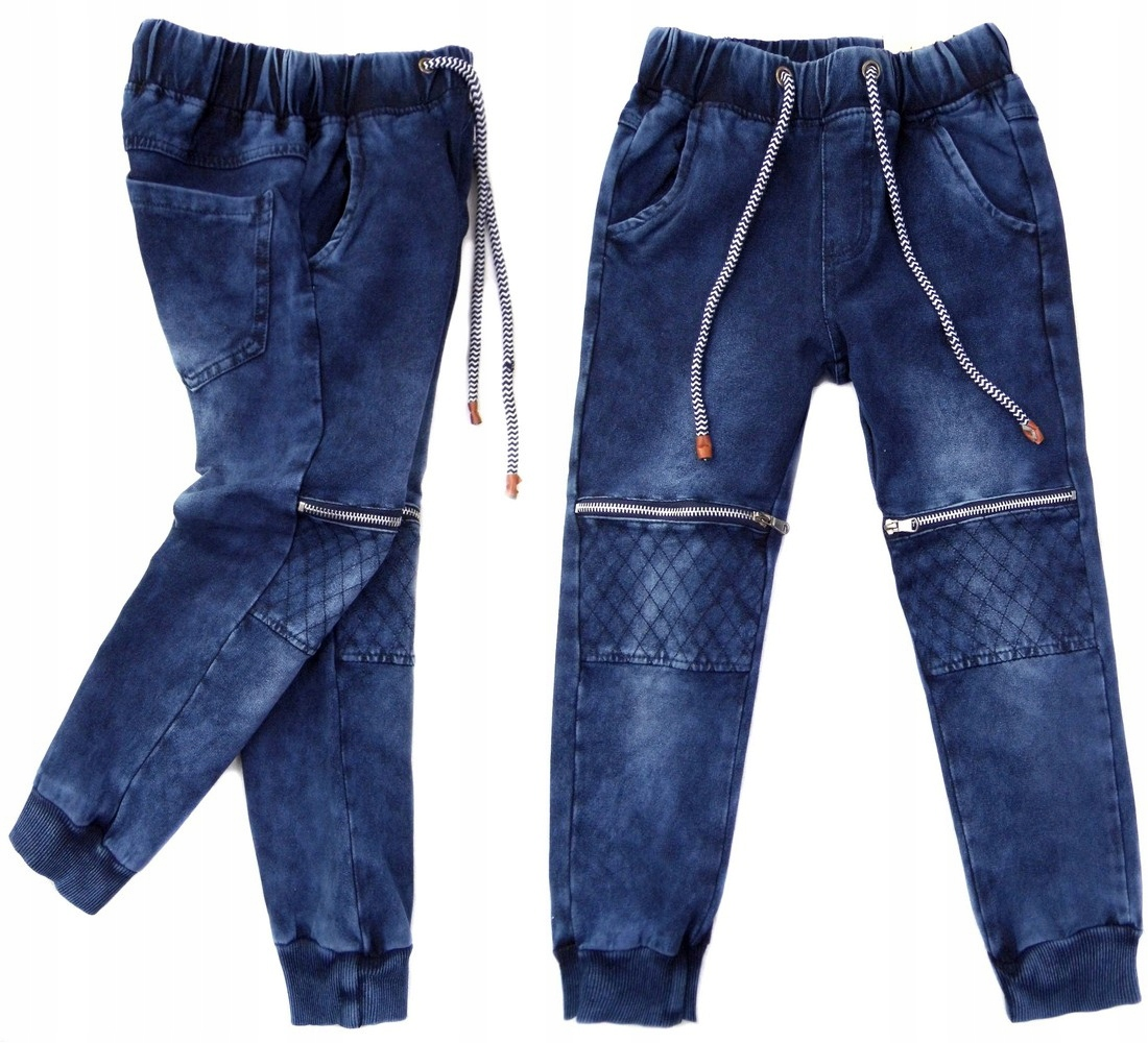 3588fc87aa0a 45A spodnie dresowe  LYNX  jak jeans 122 12~EKSTRA - 7235220598 ...