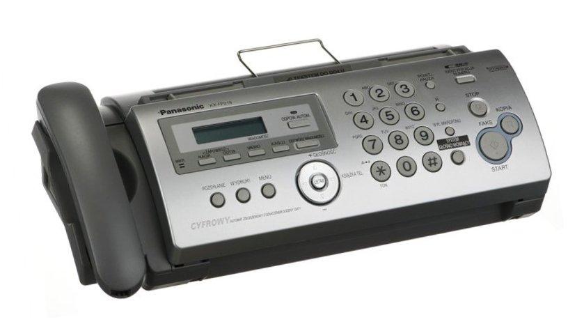 Telefaks na papier zwykły Panasonic KX-FP218 PD