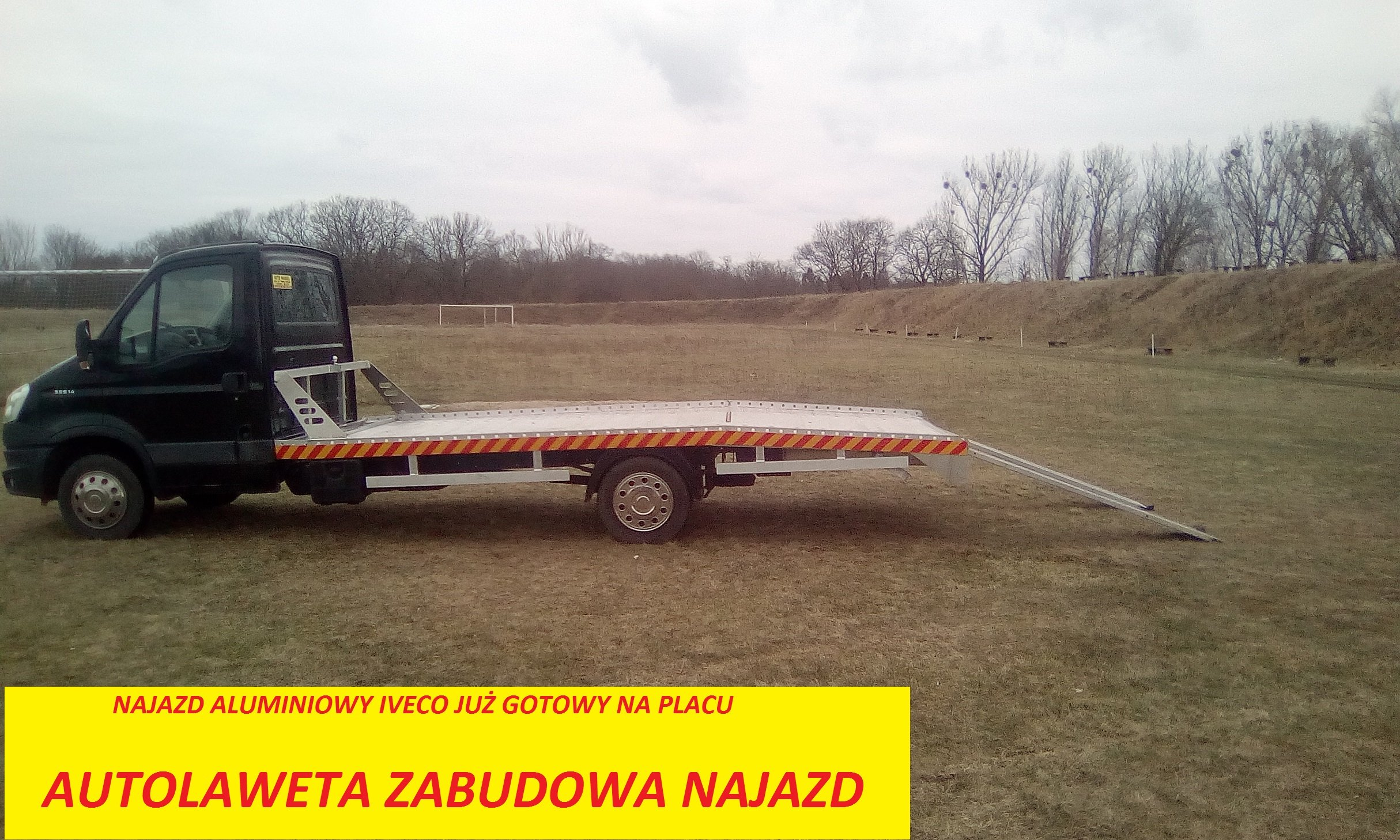 Zabudowa Najazd Laweta Sprinter Aluminiowa Na Plac 7192524872