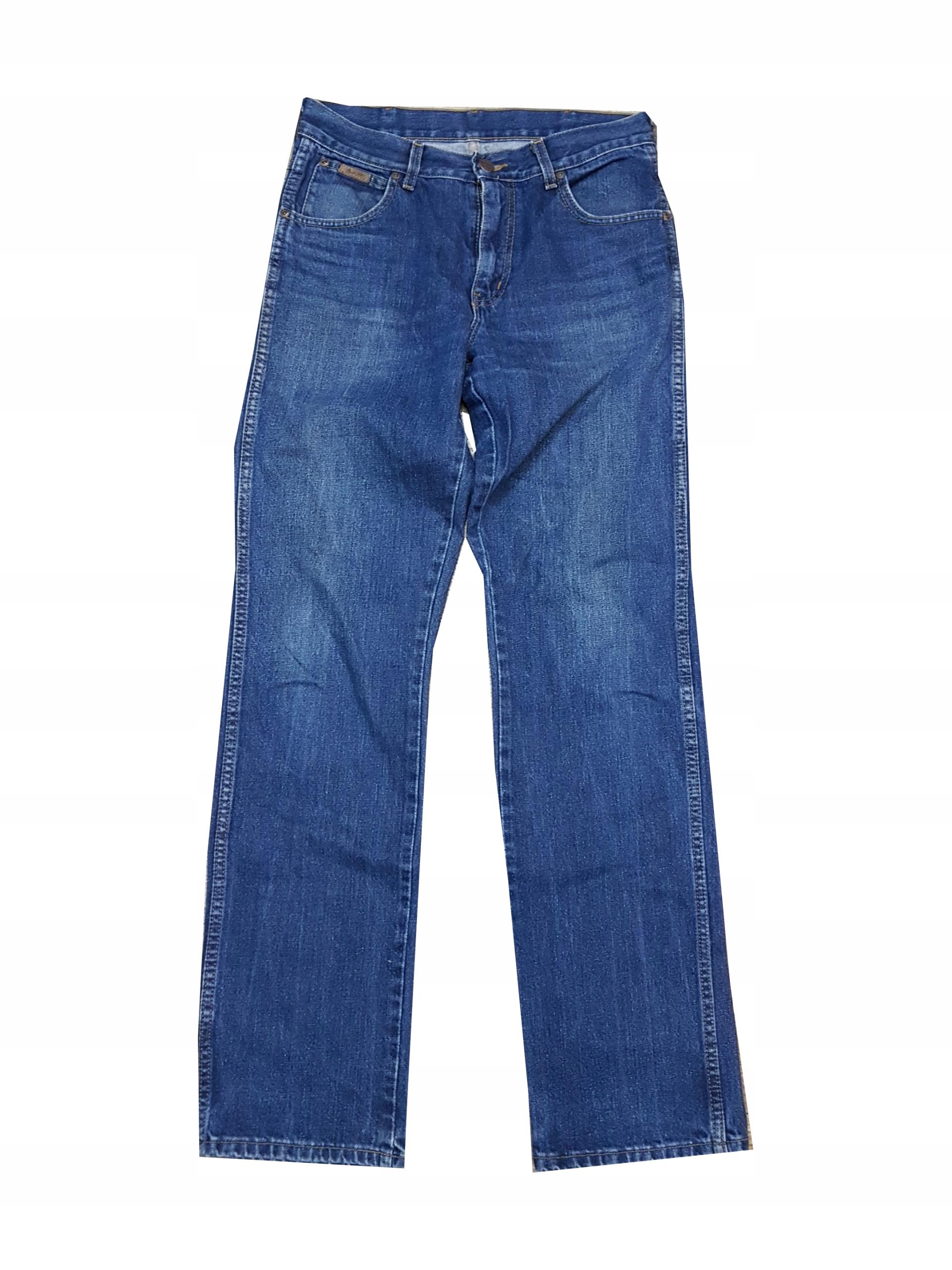 WRANGLER Klasyczne jeansy 32/34 pas 80 cm