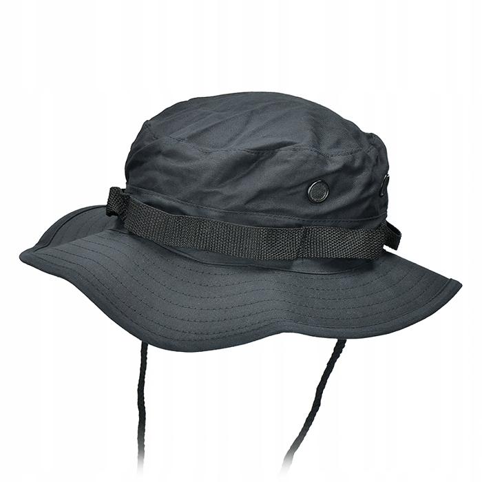 Kapelusz JUNGLE HAT Wojskowy US Army CZARNY R. M