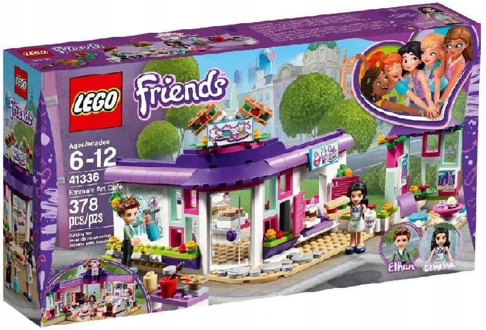 LEGO POLSKA Friends Artystyczna kawiarnia Emmy