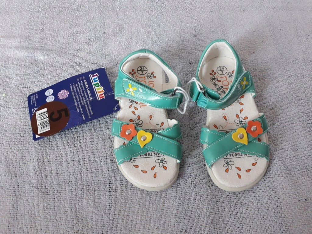 lupilu nowe sandałki 24 ok15cm