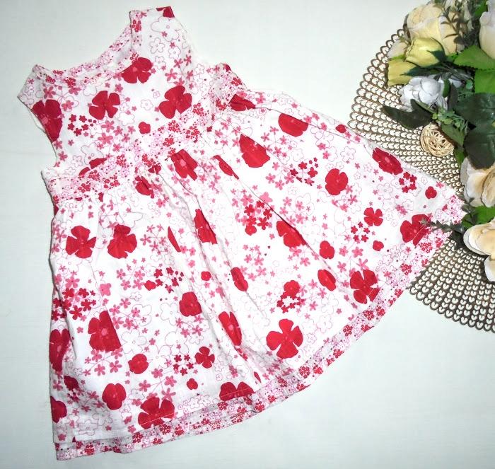 MOTHERCARE śliczna sukieneczka LATO roz.68-74