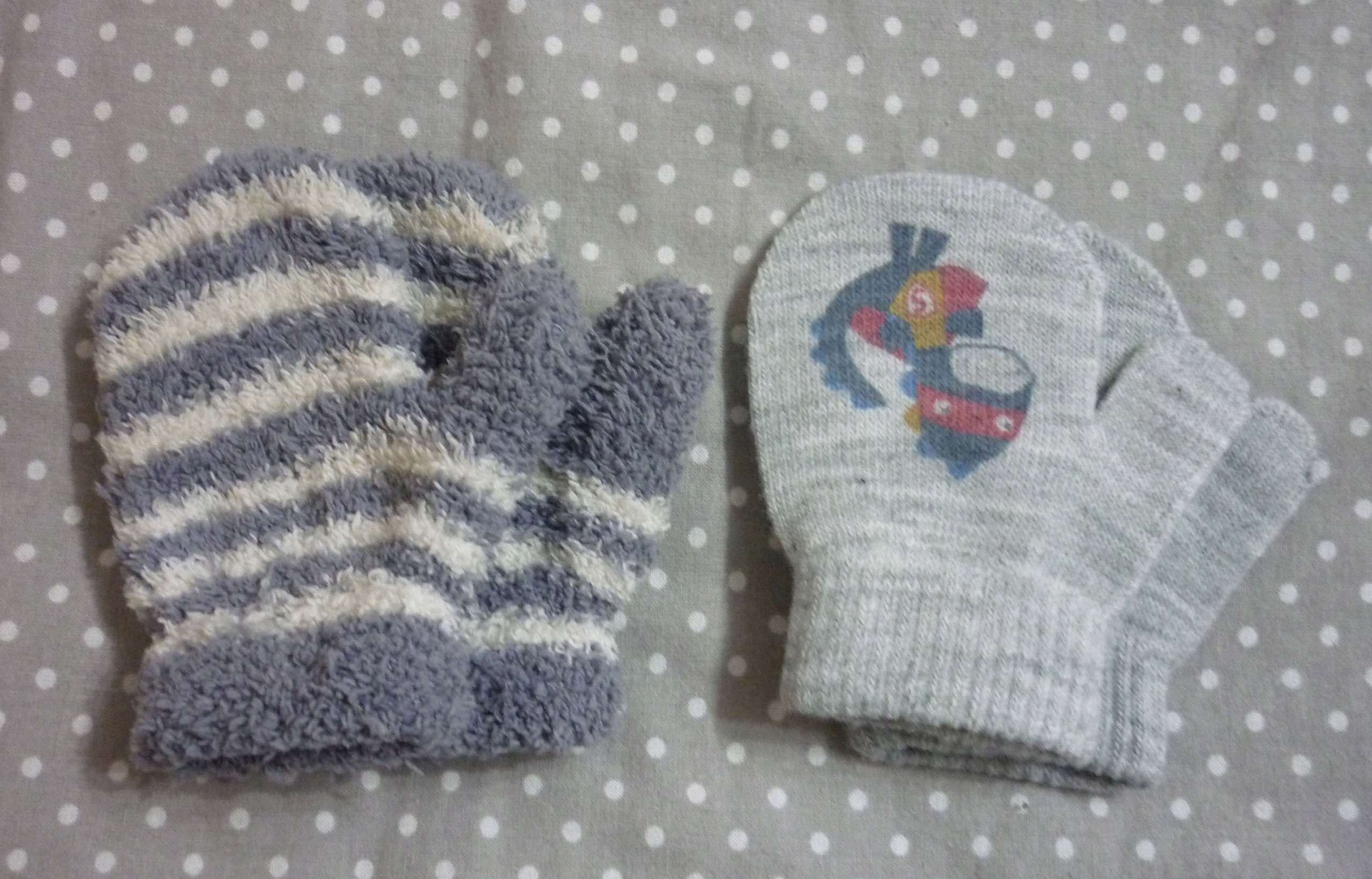 rękawiczki 2 pary 10,5cm jednopalczaste