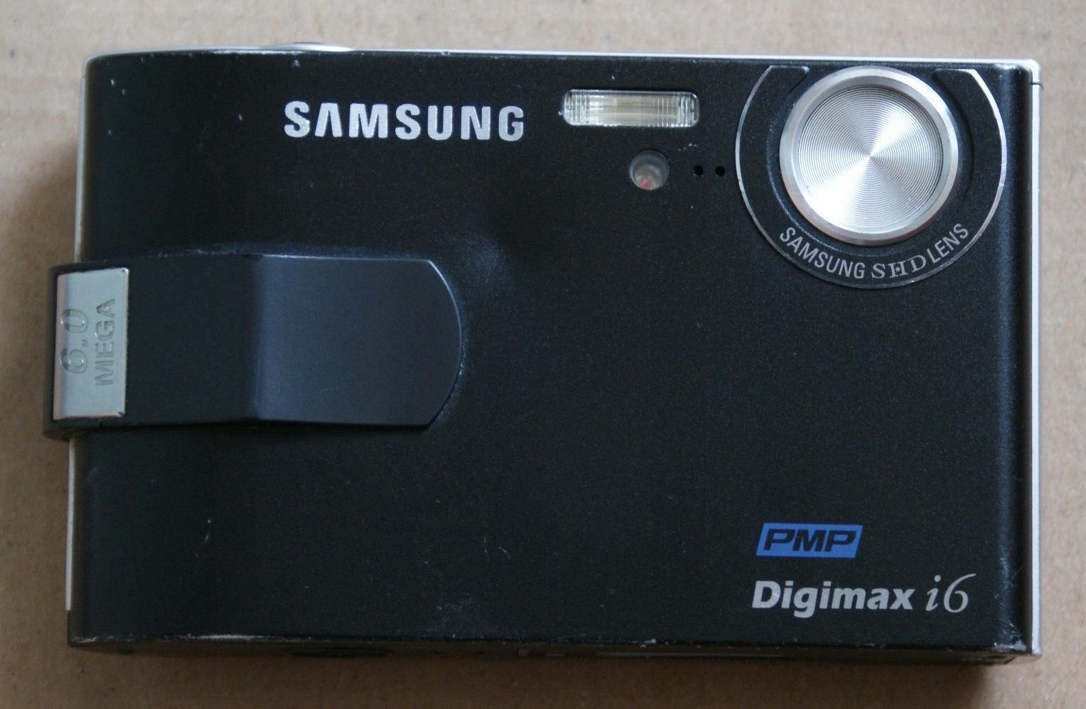 Aparat Samsung Digimax i6 6MP 3x 2.5'' MP3 WMP