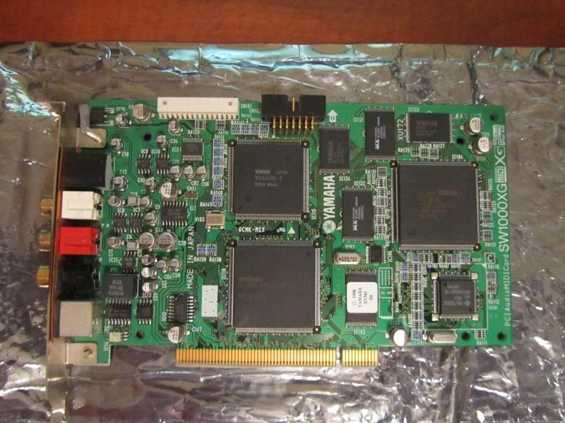 Syntezator / Karta MIDI Yamaha SW1000XG PCI - 7786124643 - oficjalne
