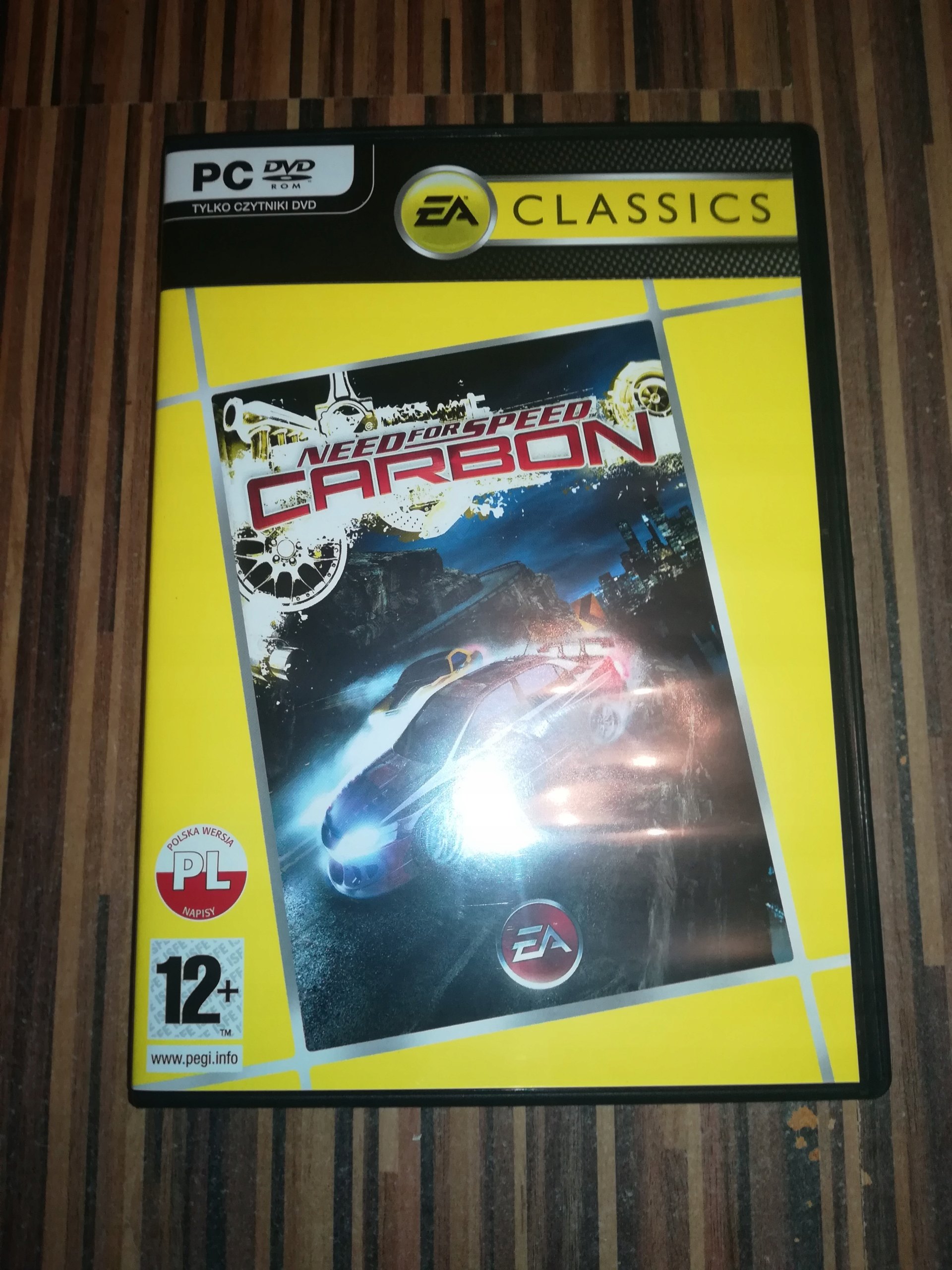 Need for Speed Carbon EA CLASSICS STAN IDEALNY BCM
