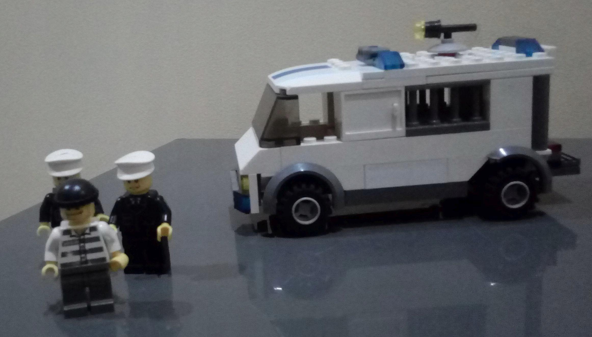 Lego City Policja Konwój Więźnia 7245 7723204874 Oficjalne