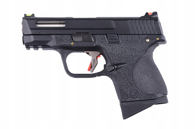 Pistolet ASG GBB 3.8 MP Compact Force - Blk/Silver