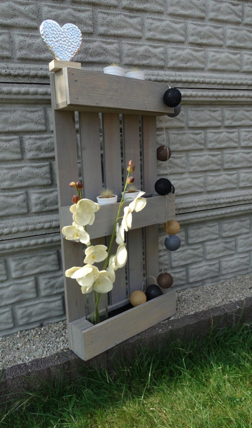 Kwietnik Ogród Balkon Paleta Regał Stojak Prezent