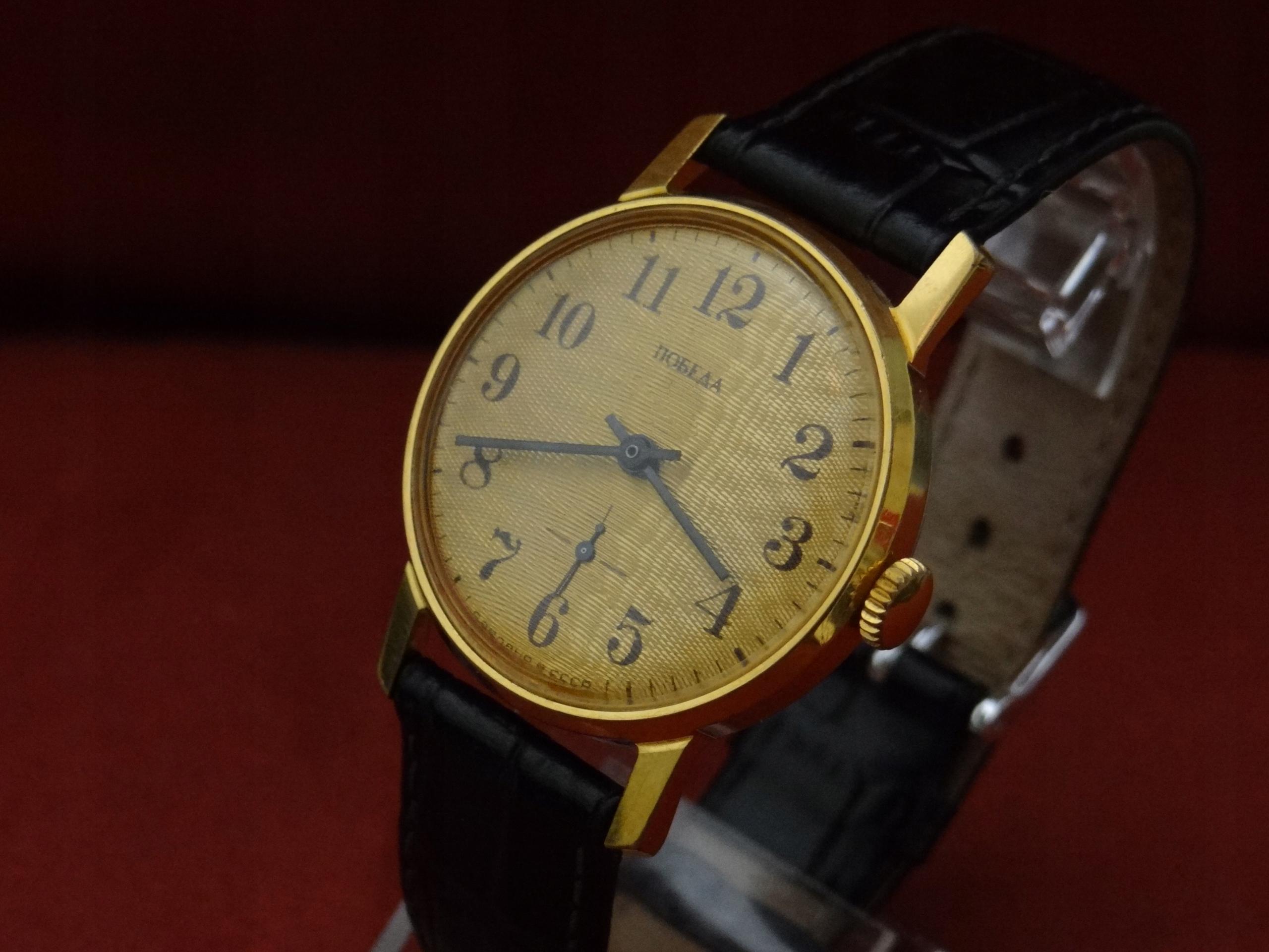 PIĘKNY zegarek POBIEDA cccp NOS jak NOWY lata 70te