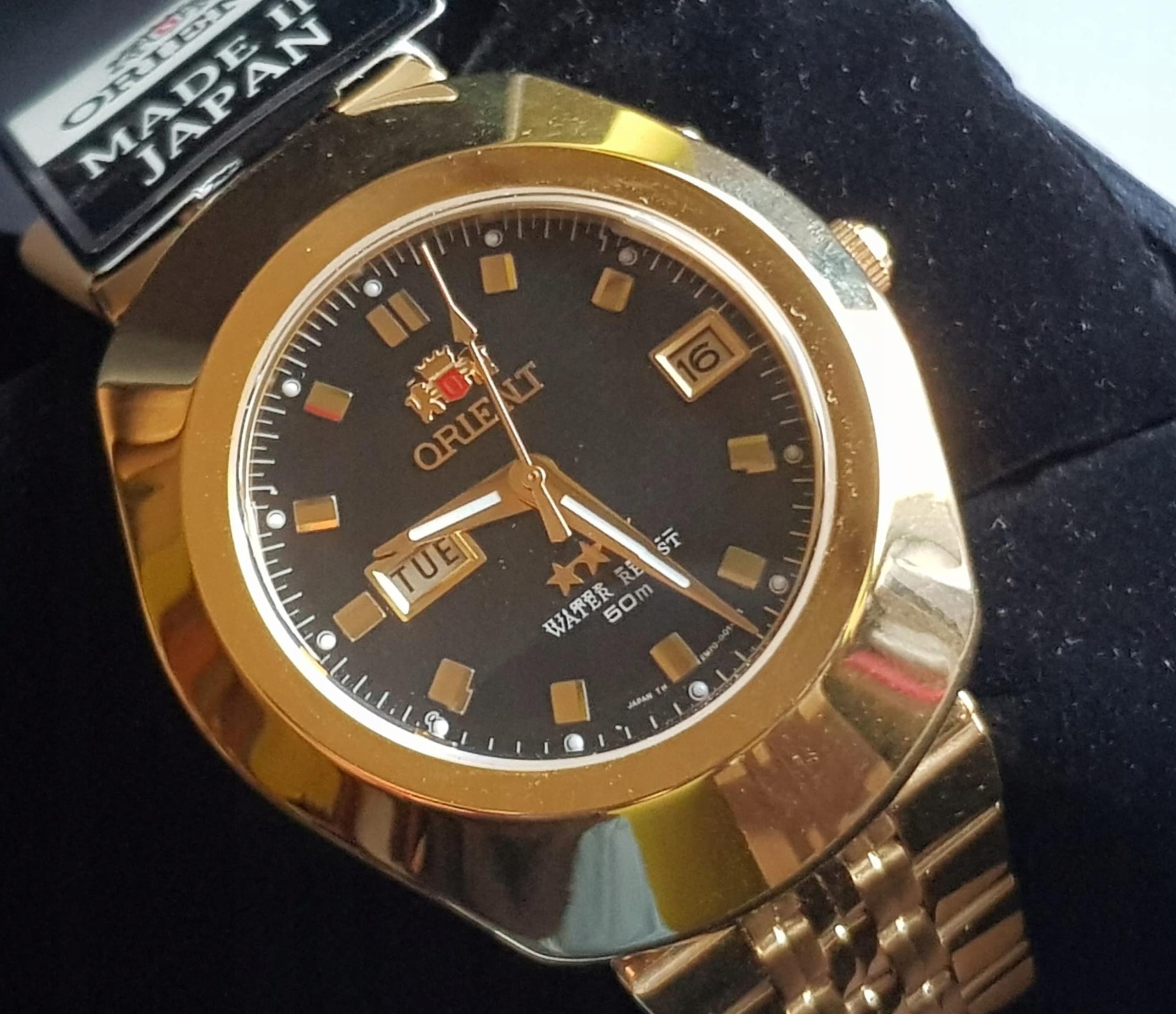 Zegarek ORIENT EM70001BG nowy!