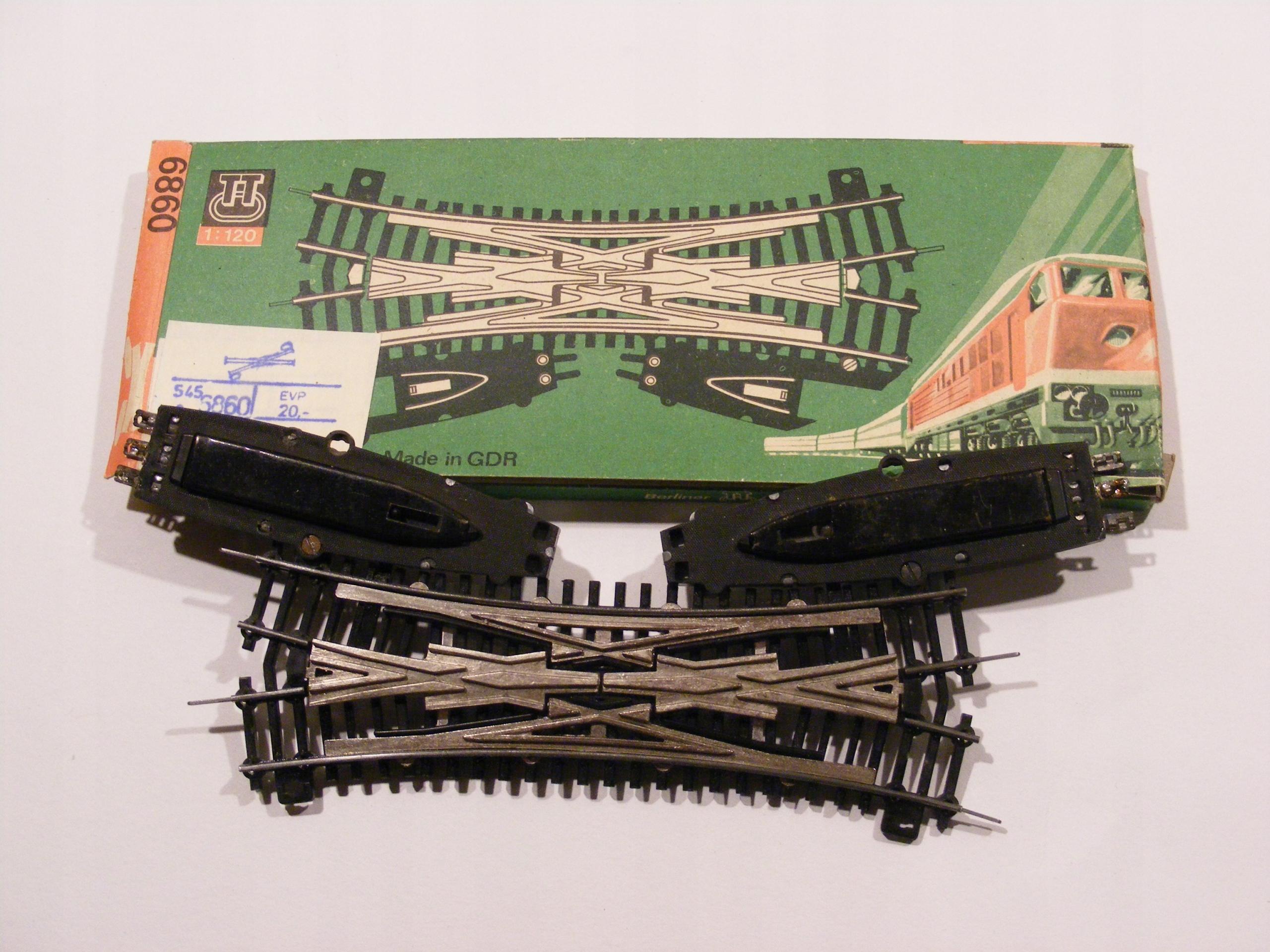 Zwrotnica TT - Anglik BTTB 6860