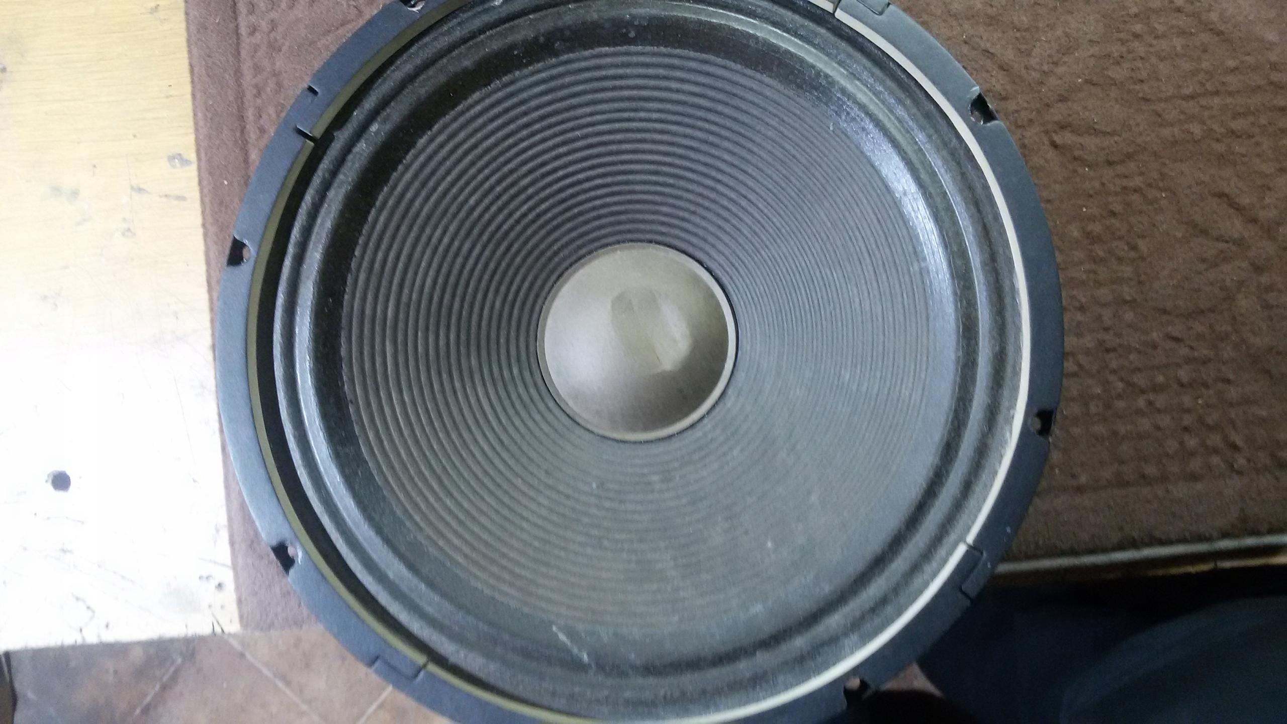 Głośnik 80 wat, 8 ohm, 12 cali uszkodzony.