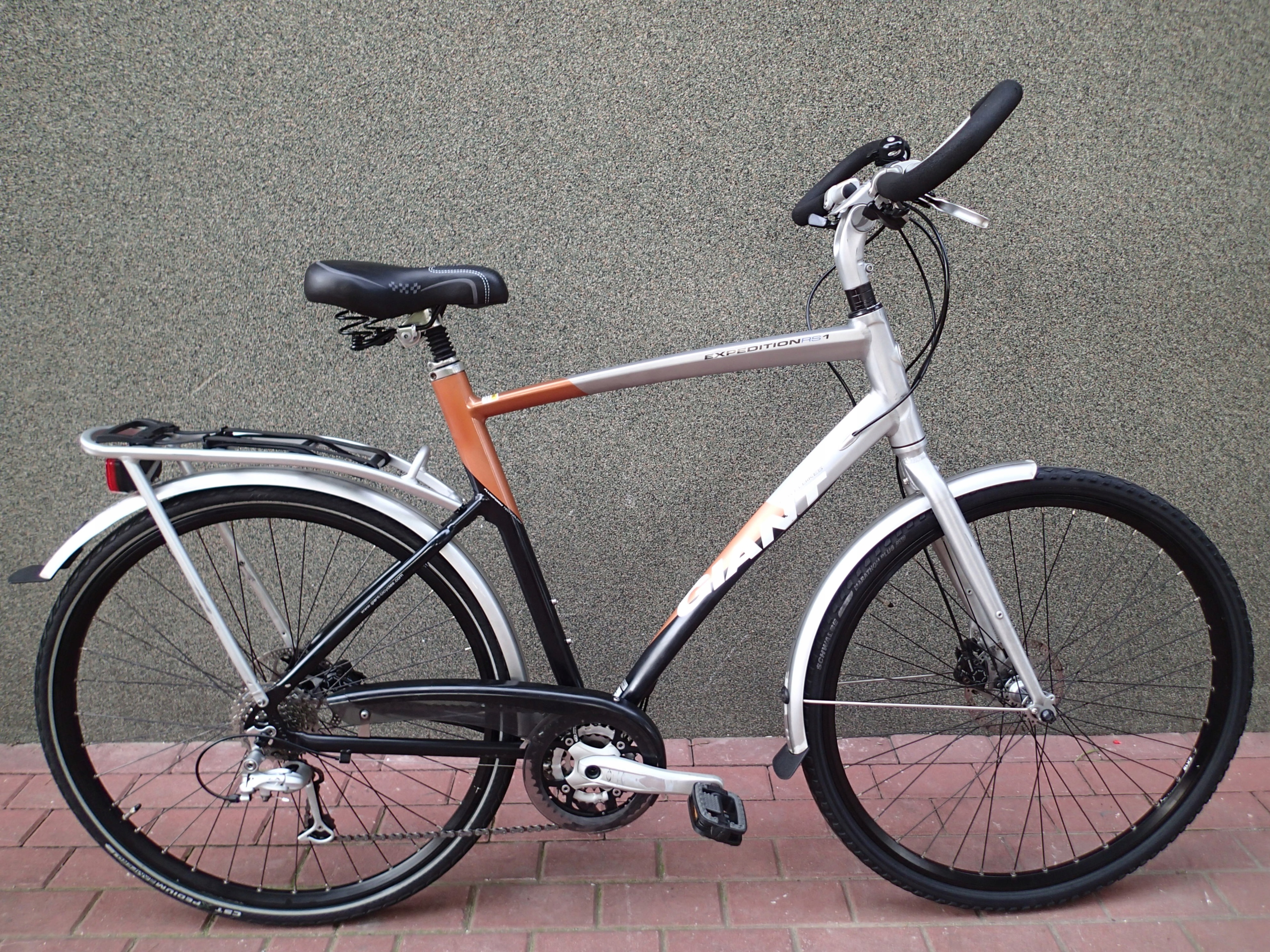 GIANT - EXPEDITION RS1 rama XL Deore LX wyprawowy