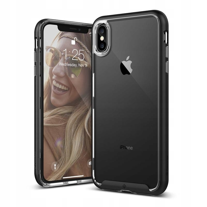 Caseology Skyfall Case - Etui iPhone Xs Max (Black