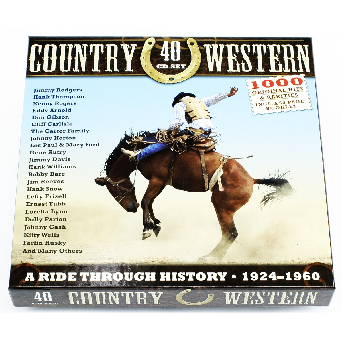 COUNTRY & WESTERN 40CD BOX
