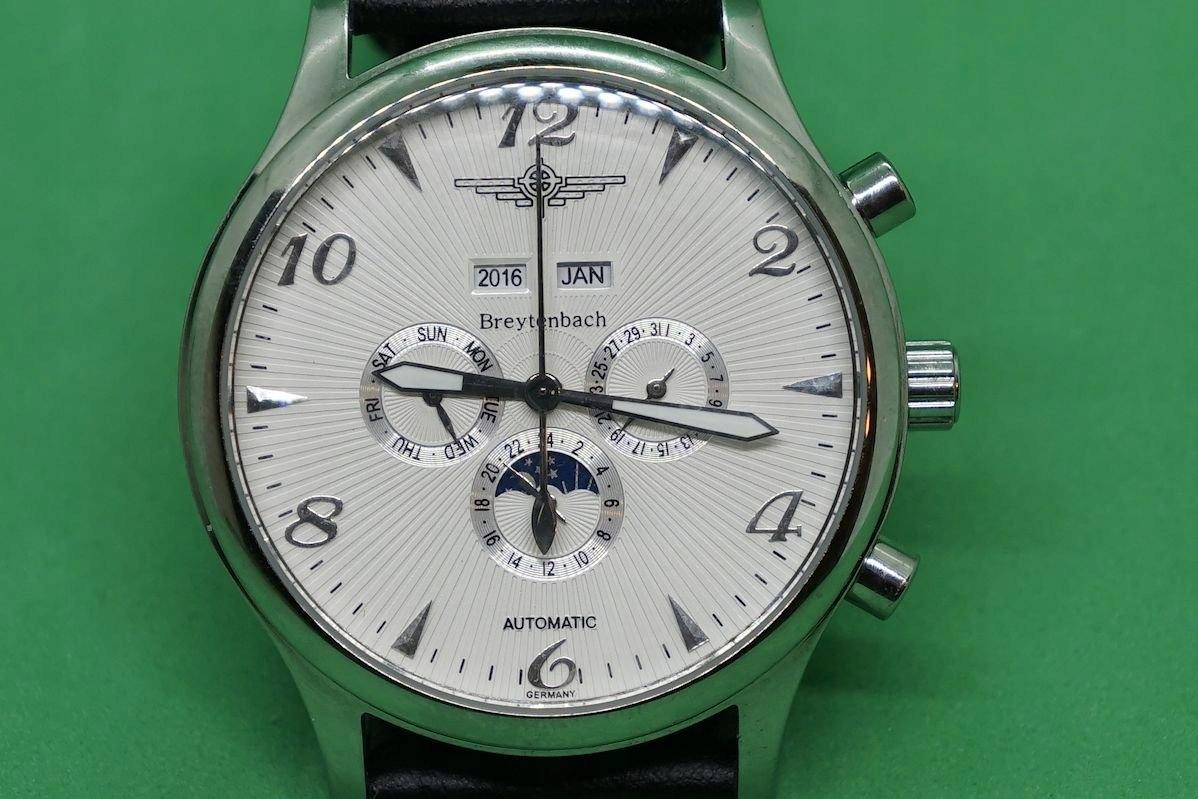 Breytenbach zegarek oryginał nowy kalendarz