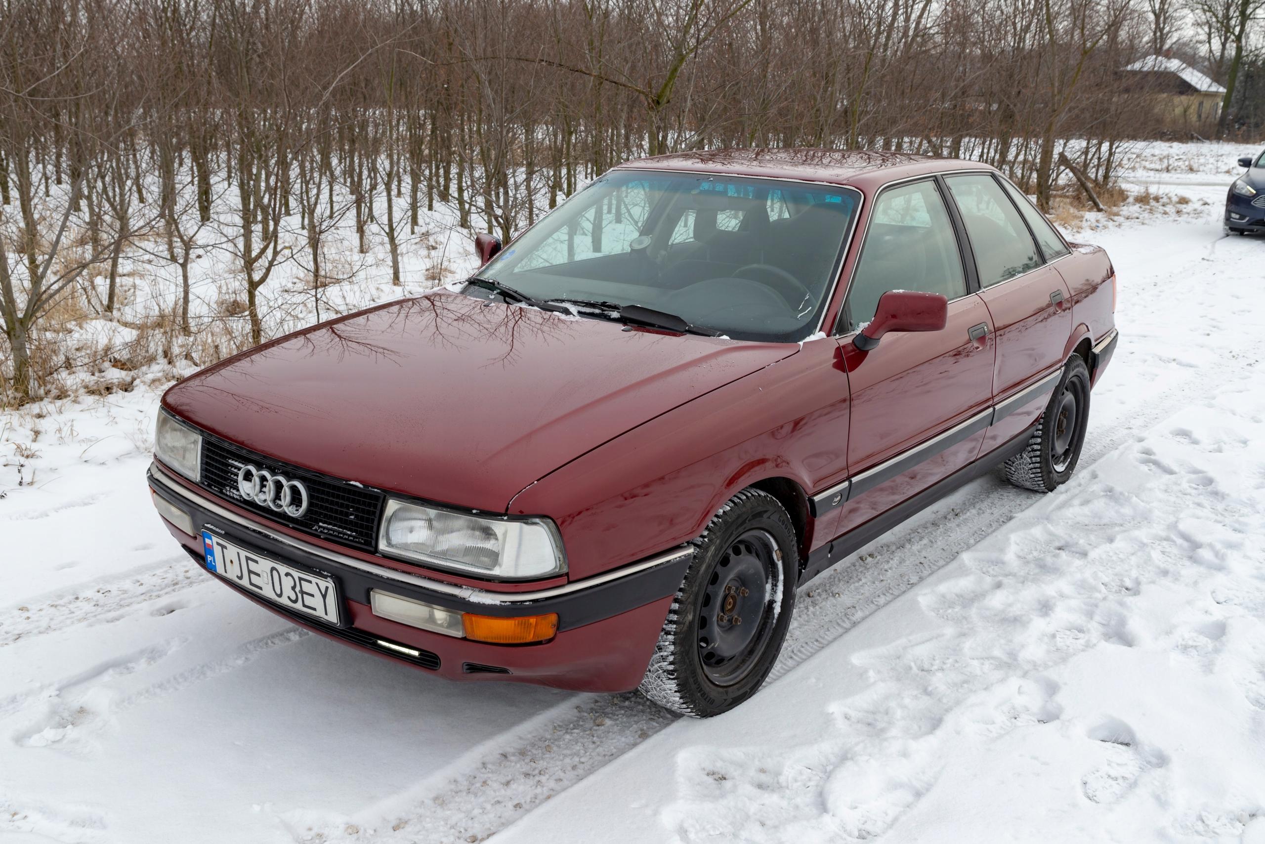 Audi 90 2.3 10V 136KM 1991 rok Benzyna-LPG
