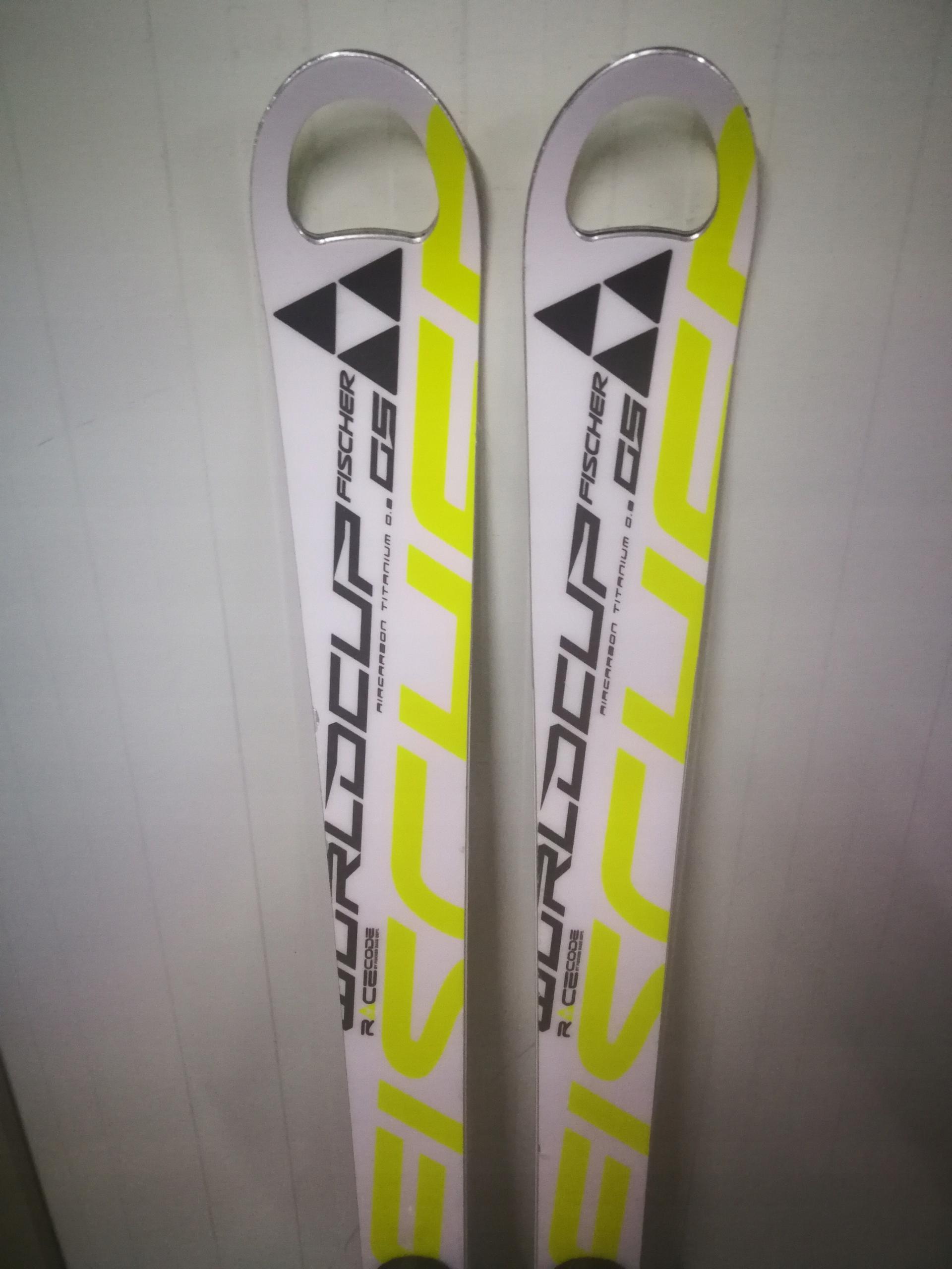 FISCHER RC4 WORLDCUP GS + TYROLIA SP10 160 cm