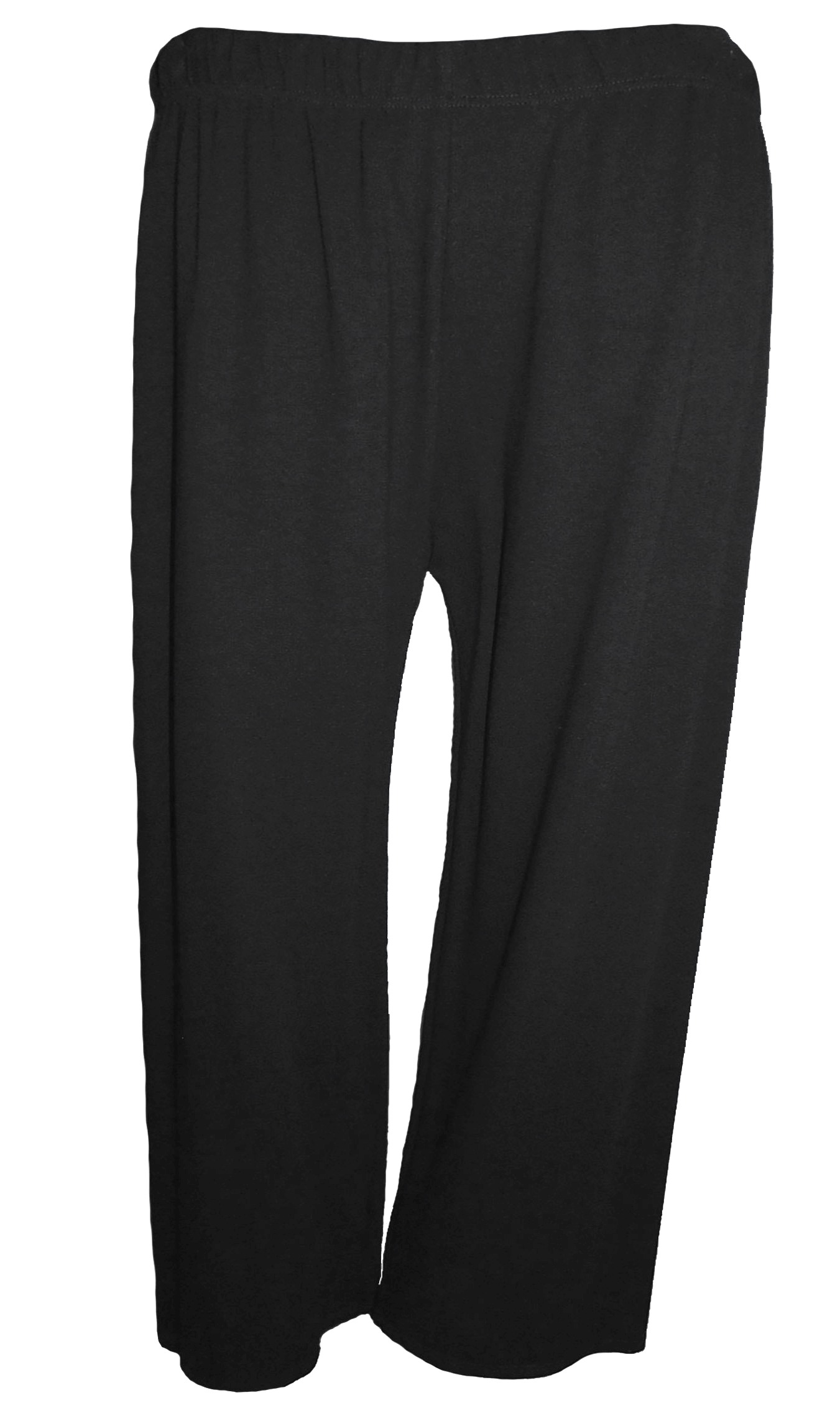 Spodnie czarne jersey XXXL - 54 / 56