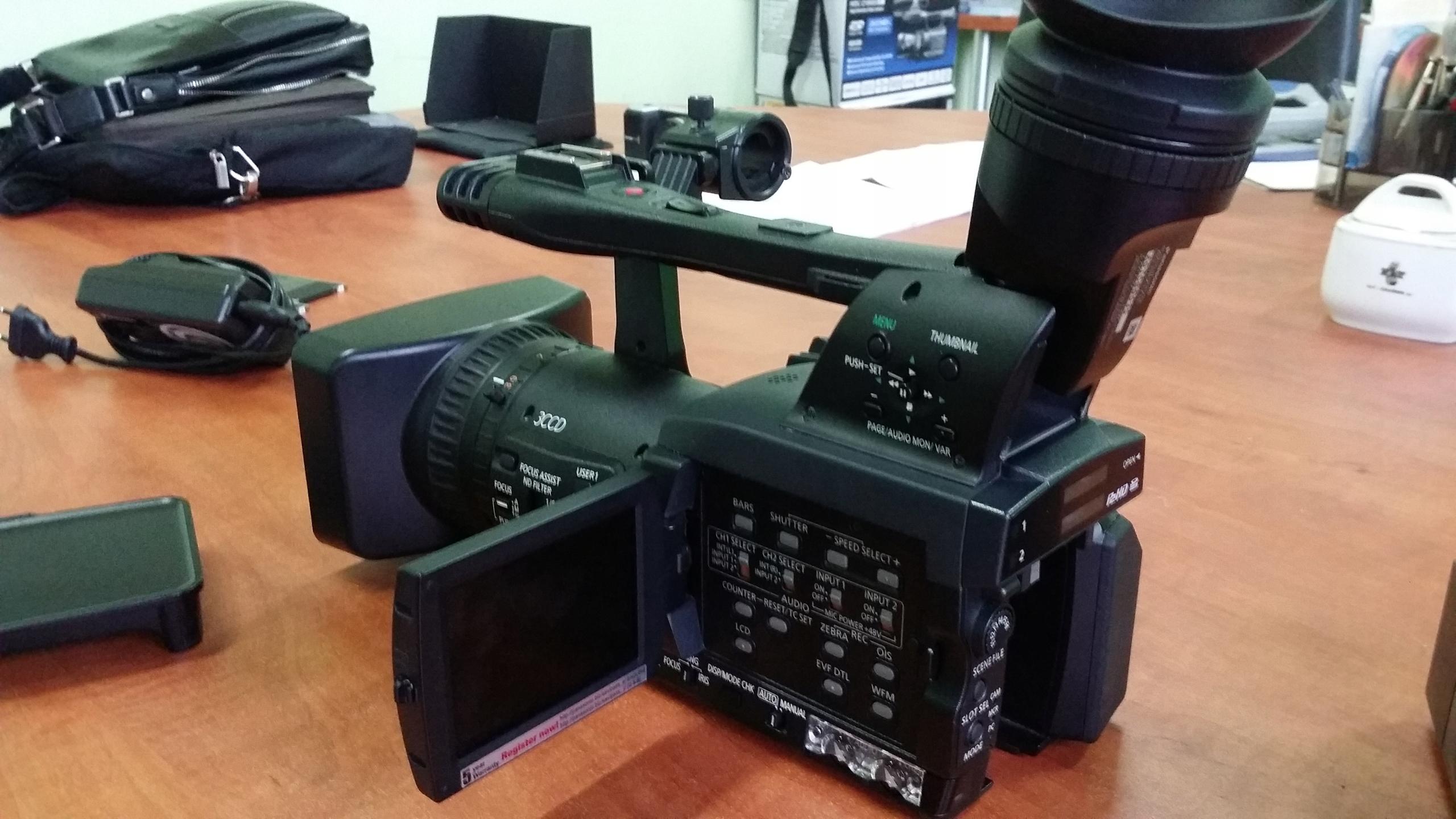 Kamera Panasonic AG-HPX171E P2 HD GWARANCJA 6msc