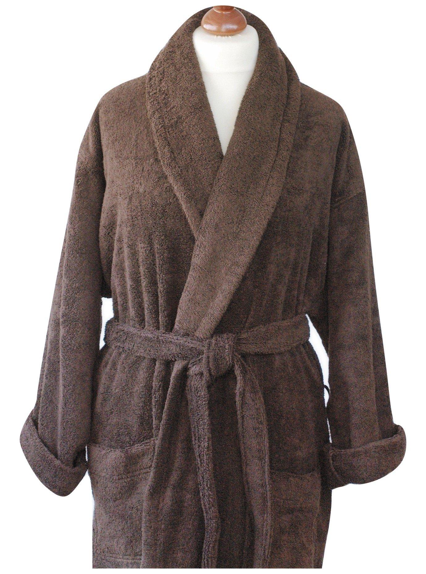 Szlafrok płaszcz kąpielowy Evora XL Greno brązowy