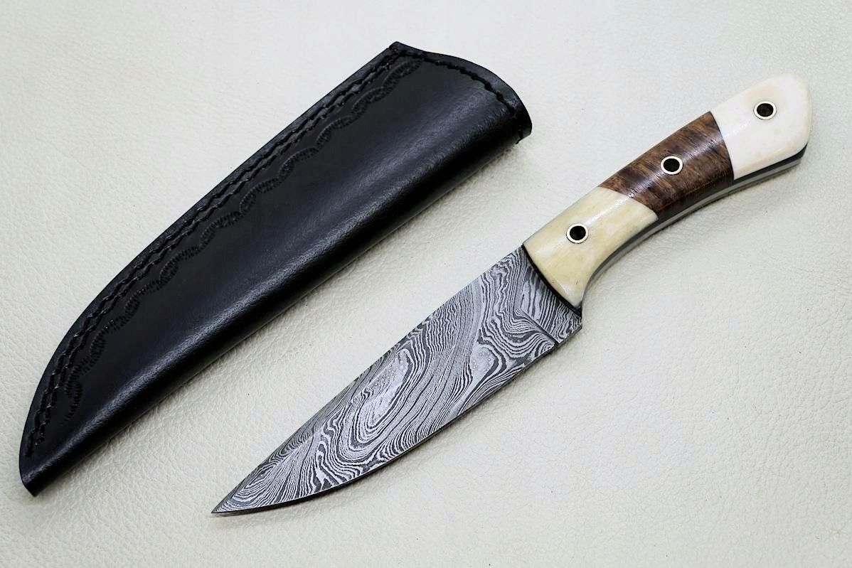 Alister duży nóż myśliwski damast damasceńskiej 05