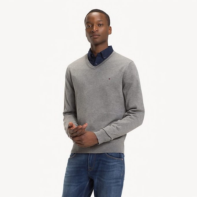 TOMMY HILFIGER Sweter S T-Shirt Bluza 2019 WIOSNA