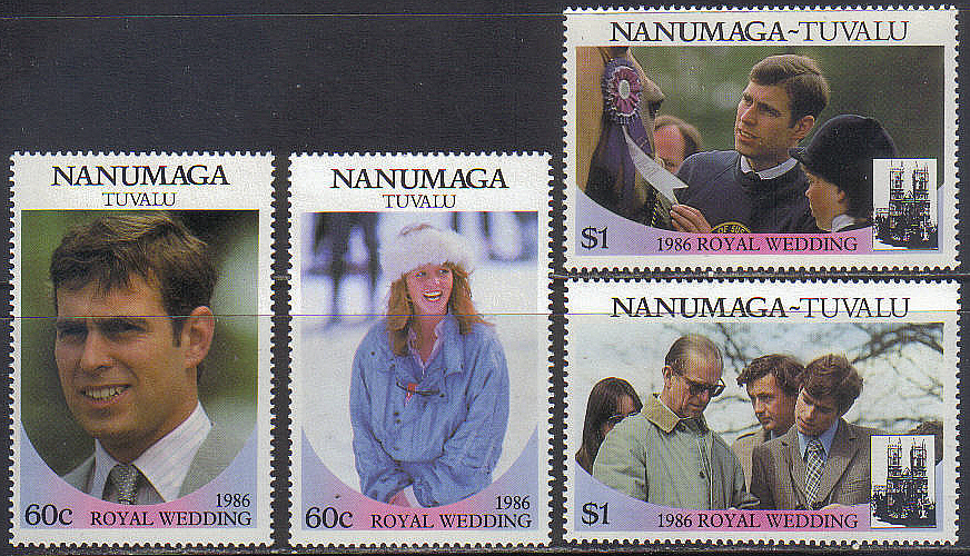 Tuvalu/Nanumaga royal wedding kpl.czyste **/*
