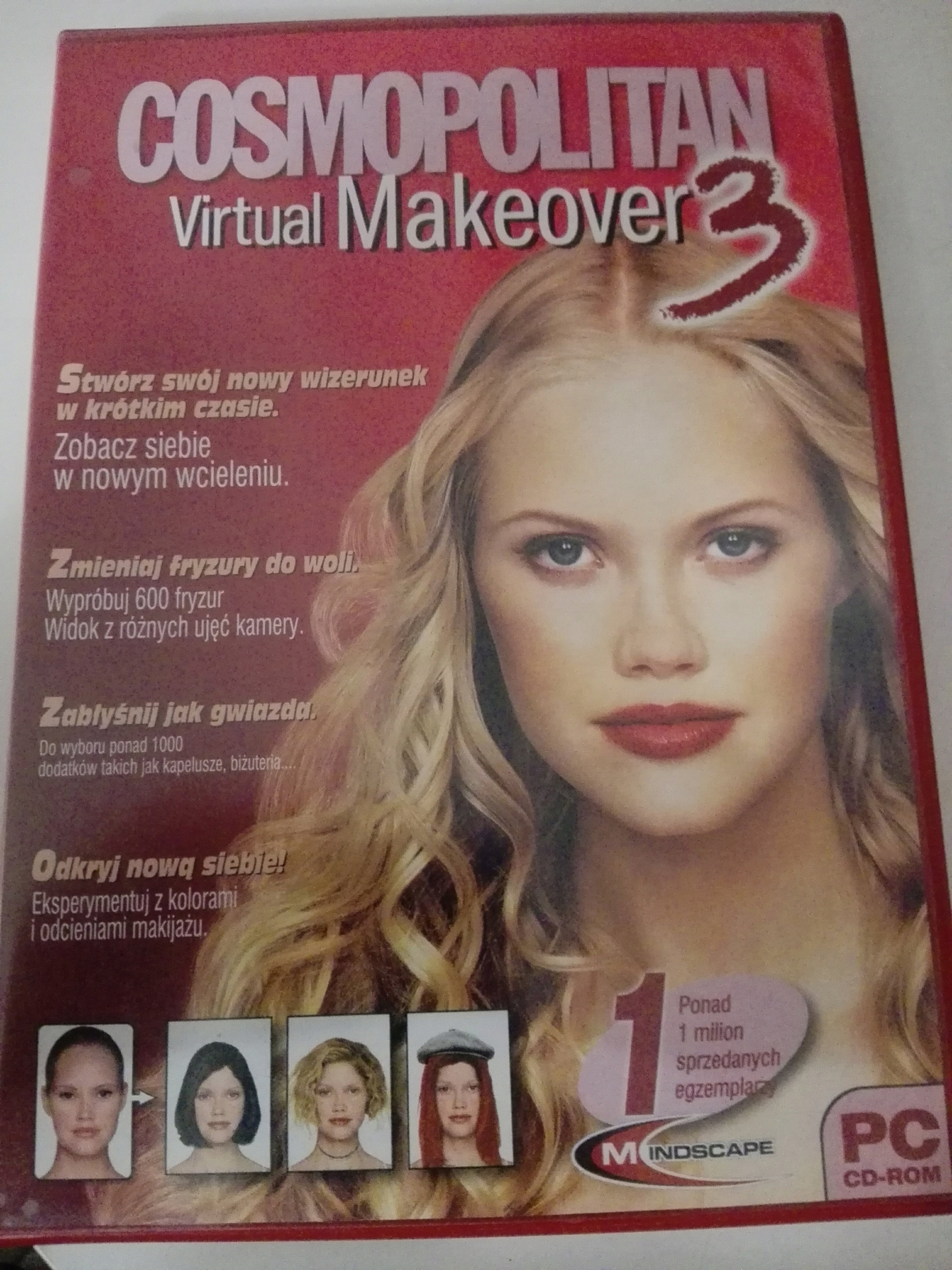 Cosmopolitan Virtual Makeover 3 Pc