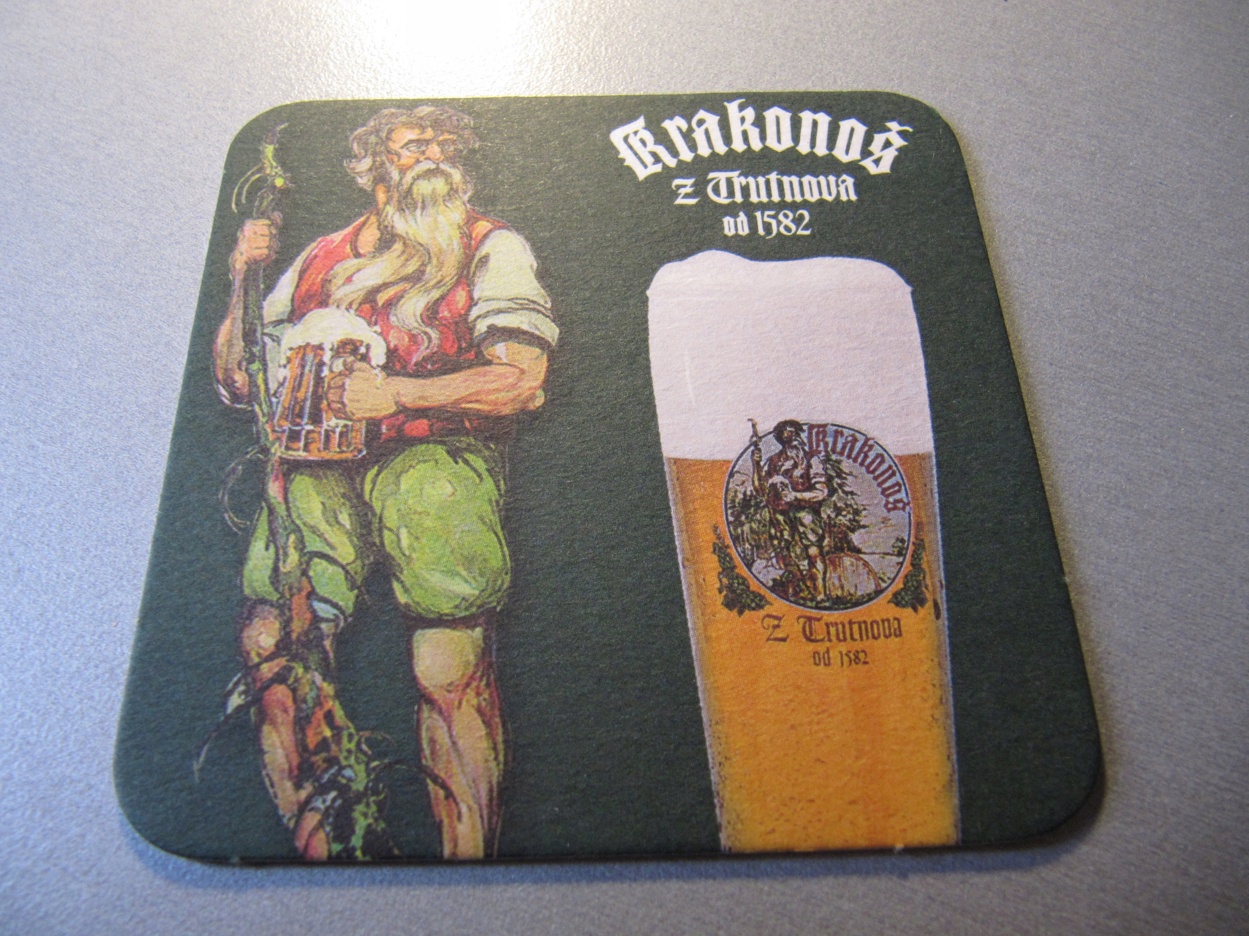 PODSTAWKA PODKŁADKA piwo Krakonos 2000